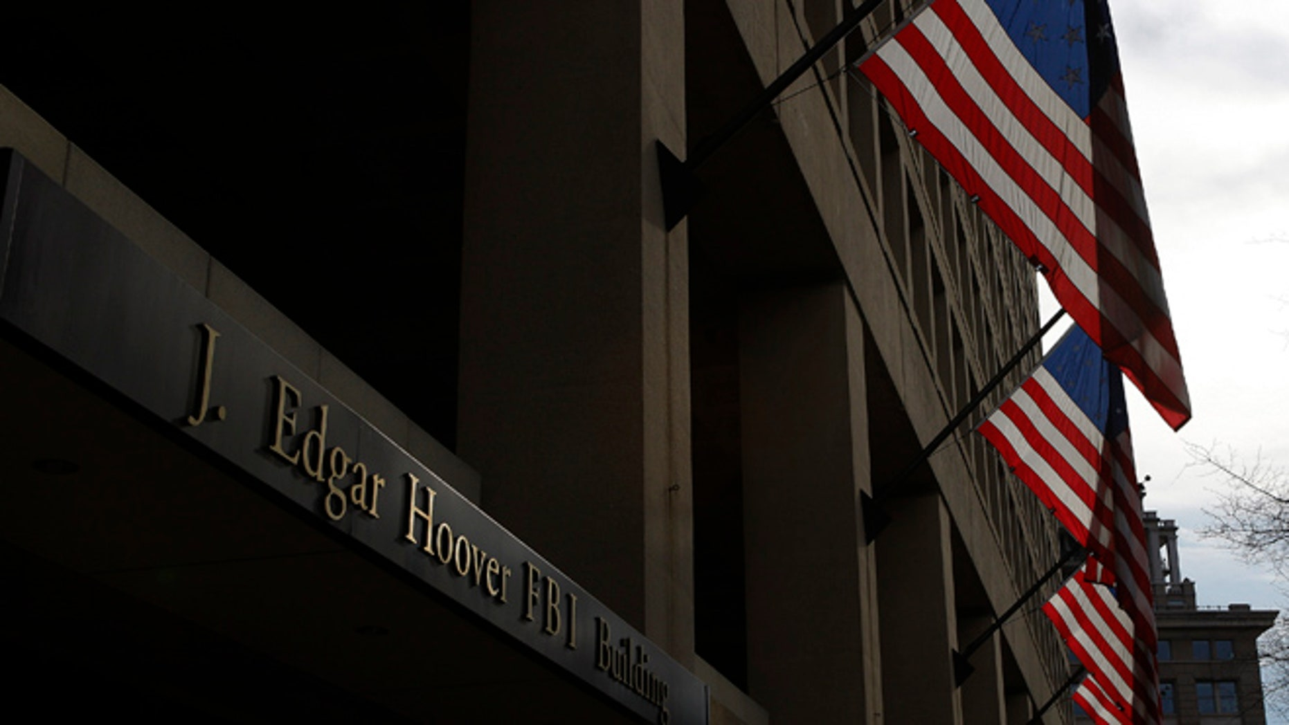 FILE: UNDATED: The main headquarters of the FBI, the J. Edgar Hoover Building, in Washington, D.C.