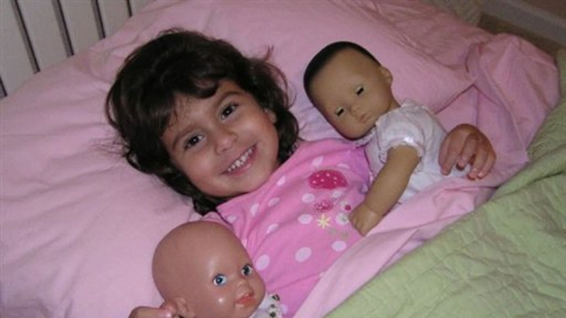 This undated photo provided by Jim Sitton via WPTV shows Makayla Sitton, 6, one of four people shot to death during a family Thanksgiving gathering Thursday night, Nov. 26, 2009 in Jupiter, Fla.