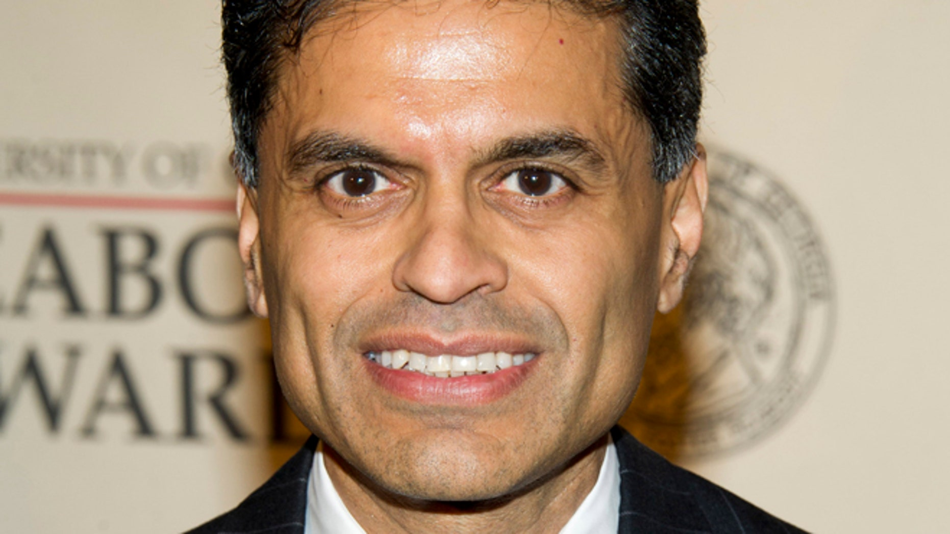 Fareed Zakaria, seen in this May 21, 2012, file photo, has been suspended by Time and CNN for plagiarism.