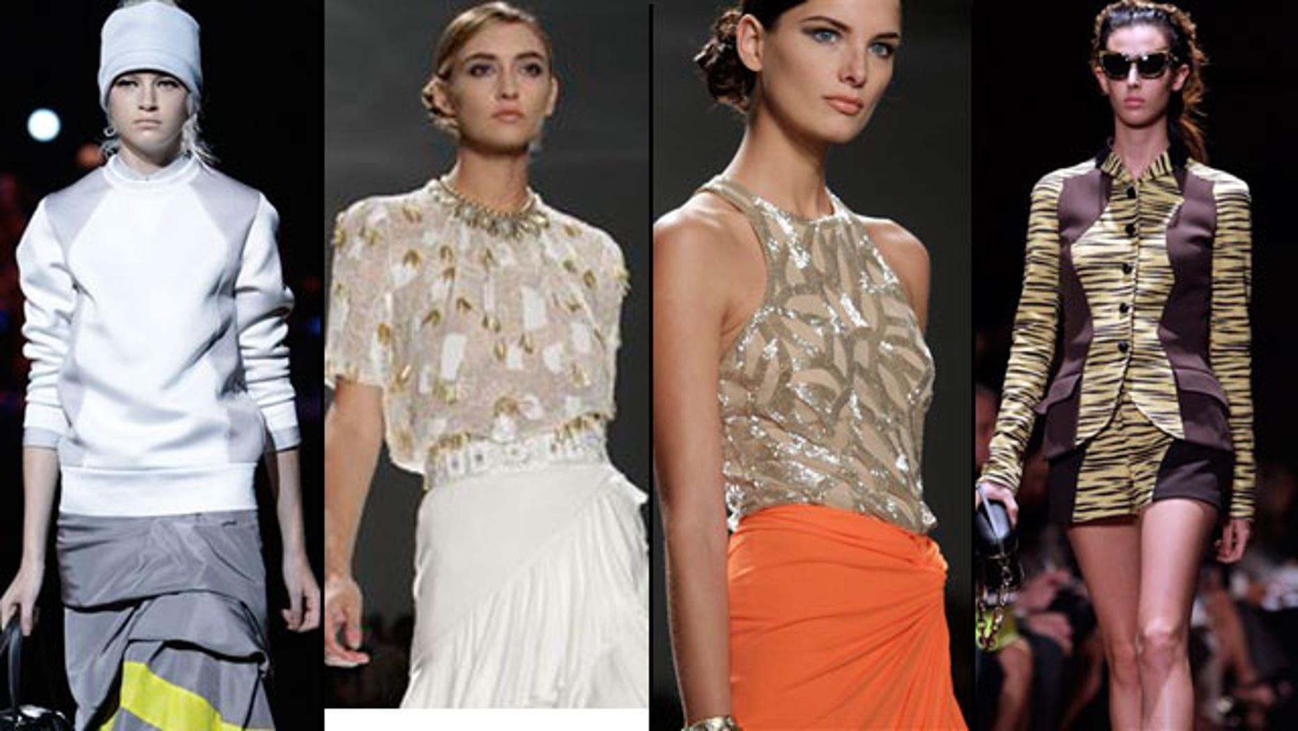 Models on the Spring 2012 runways (AP)
