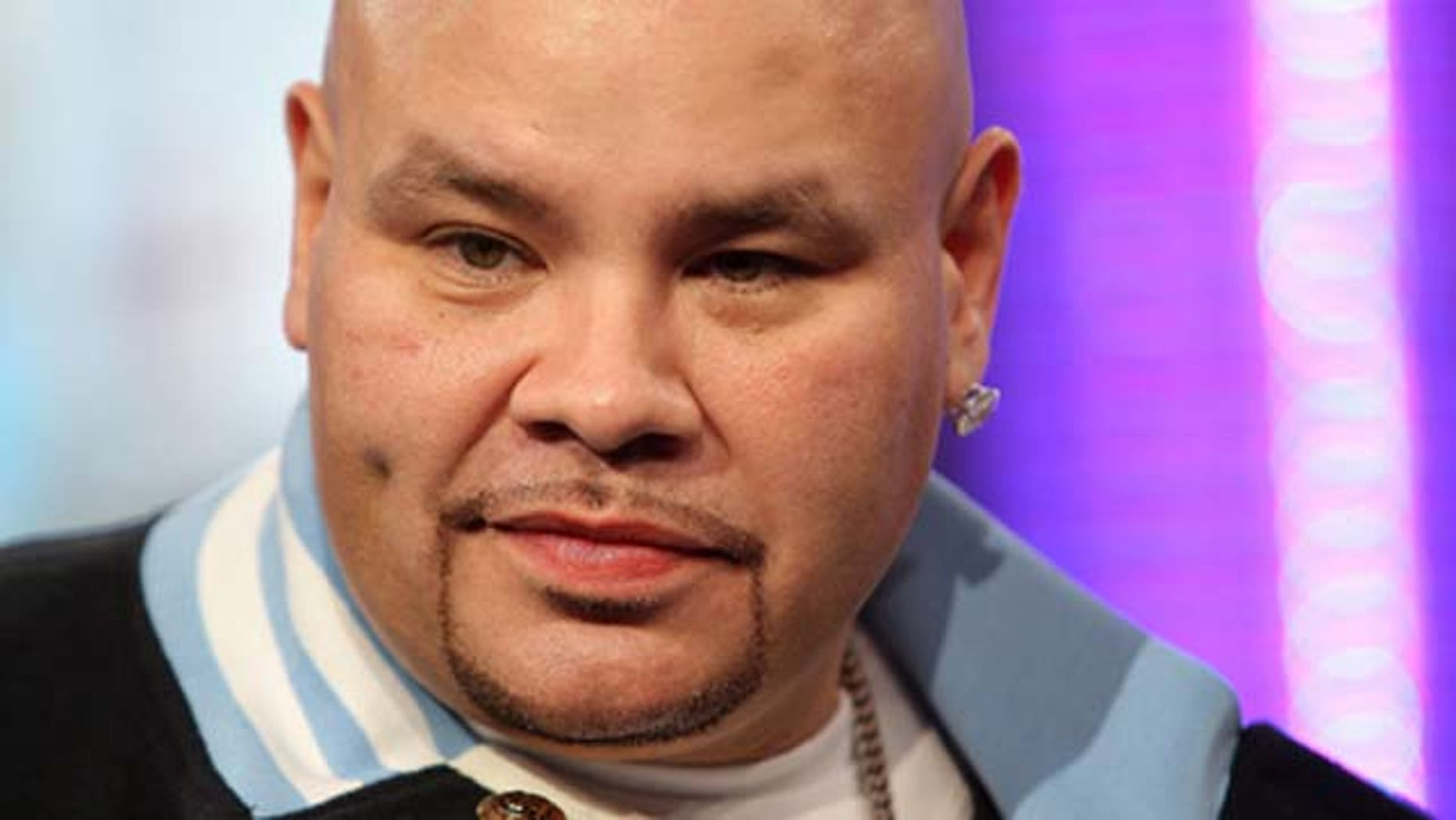 March 11, 2008: Rapper Fat Joe appears onstage during MTV's Total Request Live at the MTV Times Square Studios in New York City.