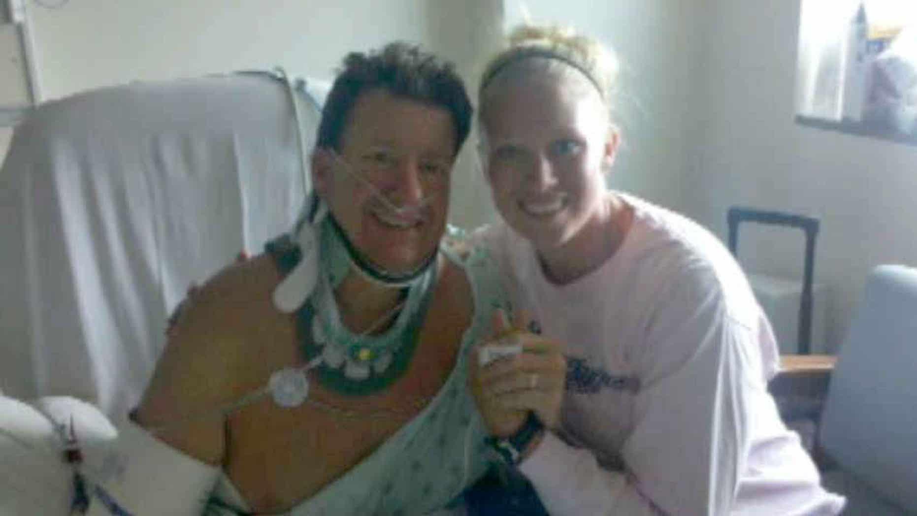Alec Kornacki, and his daughter, Lauren