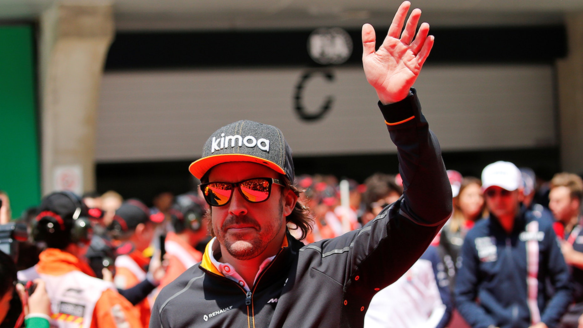 Formula One - F1 - Chinese Grand Prix - Shanghai, China - April 15, 2018 - McLaren's Fernando Alonso before the race. REUTERS/Aly Song - RC16F96CCA30