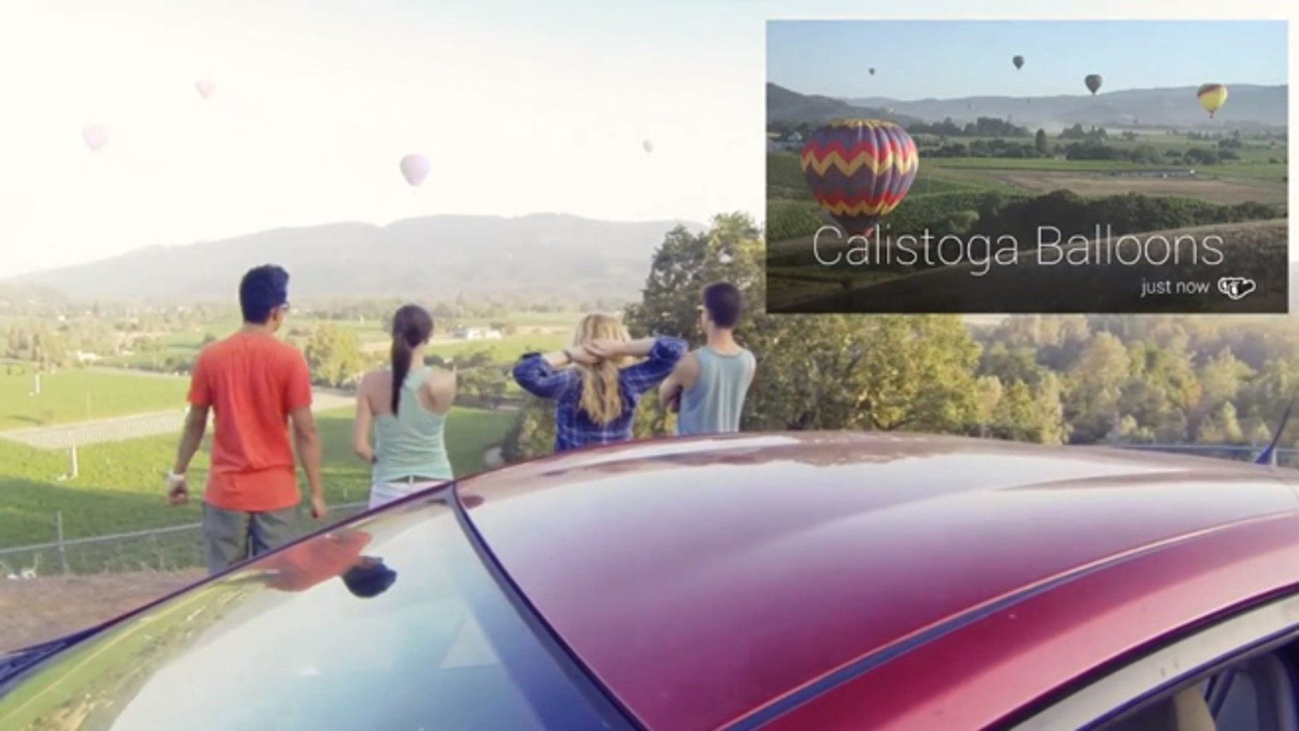 The Field Trip app for Google Glass turns the futuristic device into a travel guide.