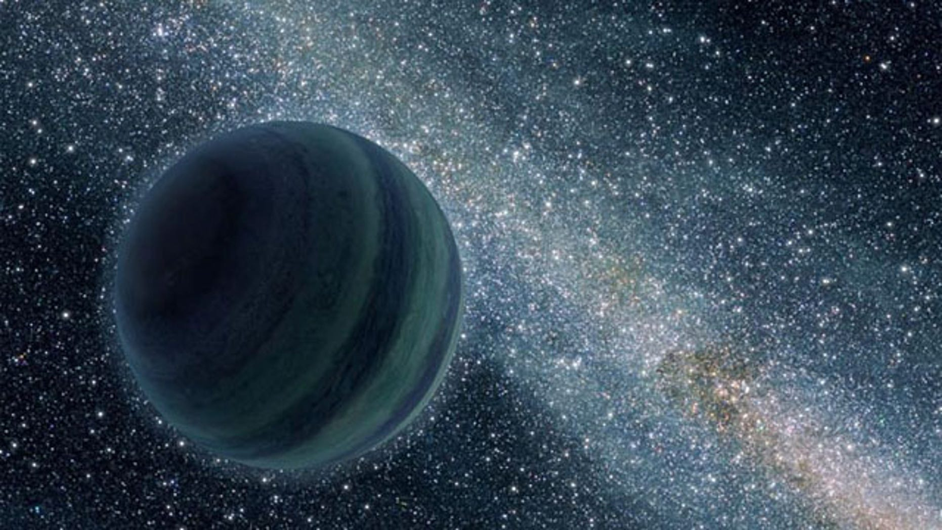A new set of computer simulations suggests that there was once a fifth giant planet in addition to Jupiter, Saturn, Uranus, and Neptune.
