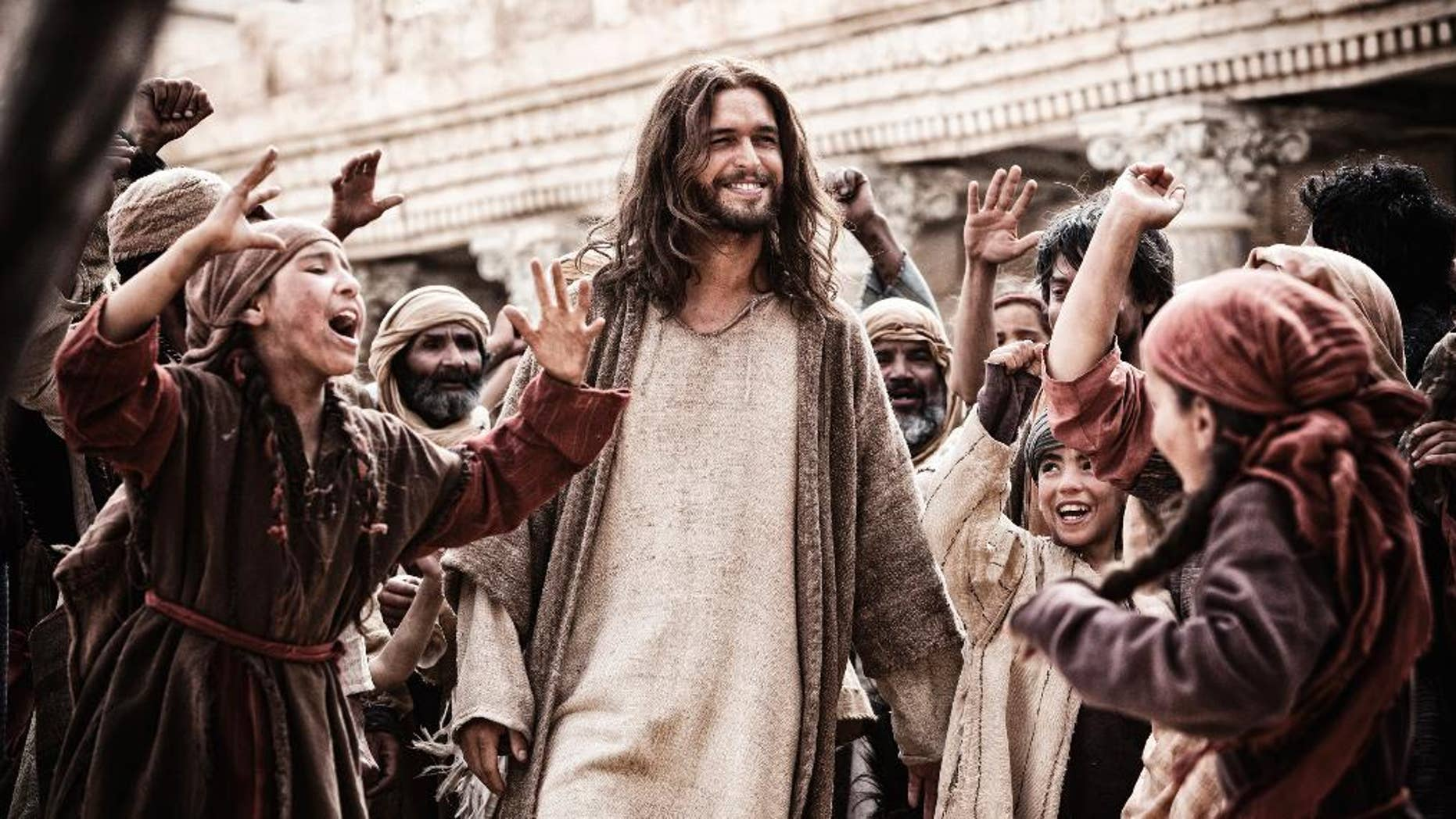 """Diogo Morgado in a scene from """"Son of God."""""""