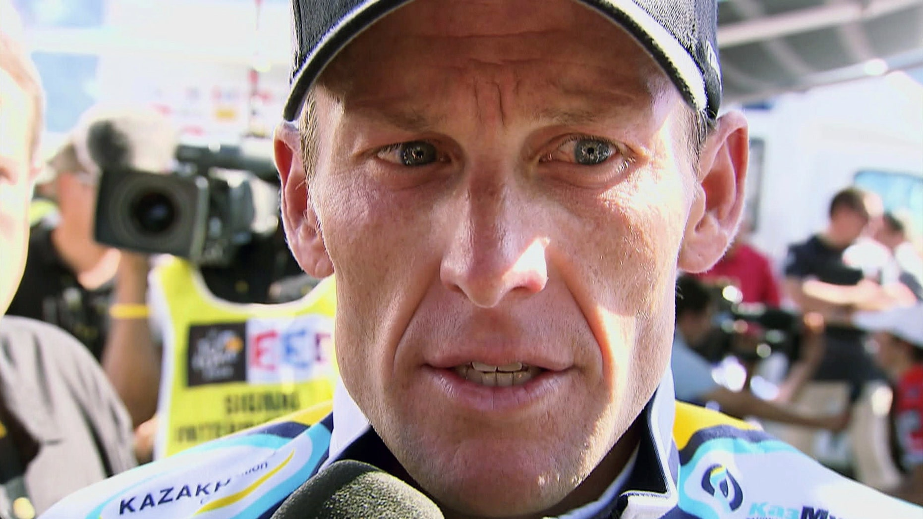 """Undated FILE  photo of Lance Armstrong from Sony Pictures Classics'  new documentary, """"The Armstrong Lie."""""""