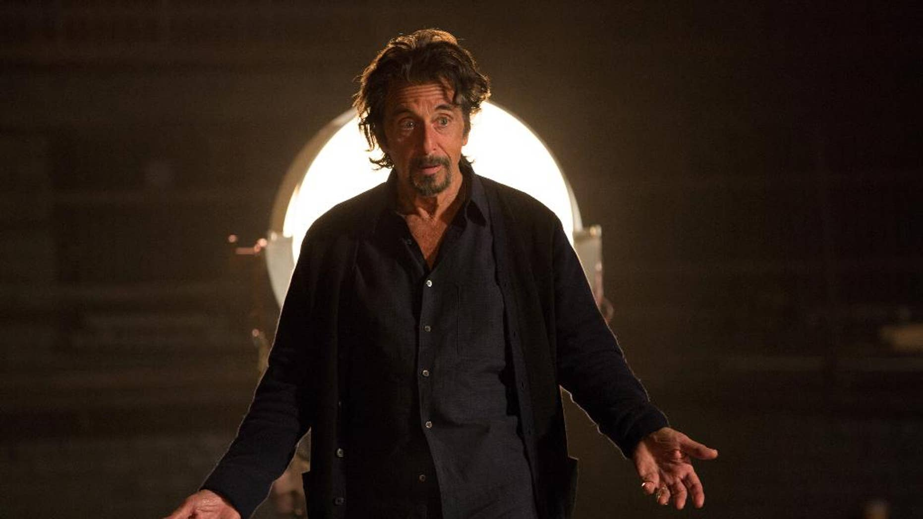 "This photo provided by courtesy of Alchemy shows Al Pacino as Simon Axler in the film, ""The Humbling."" (AP Photo/Alchemy, Christie Mullen)"