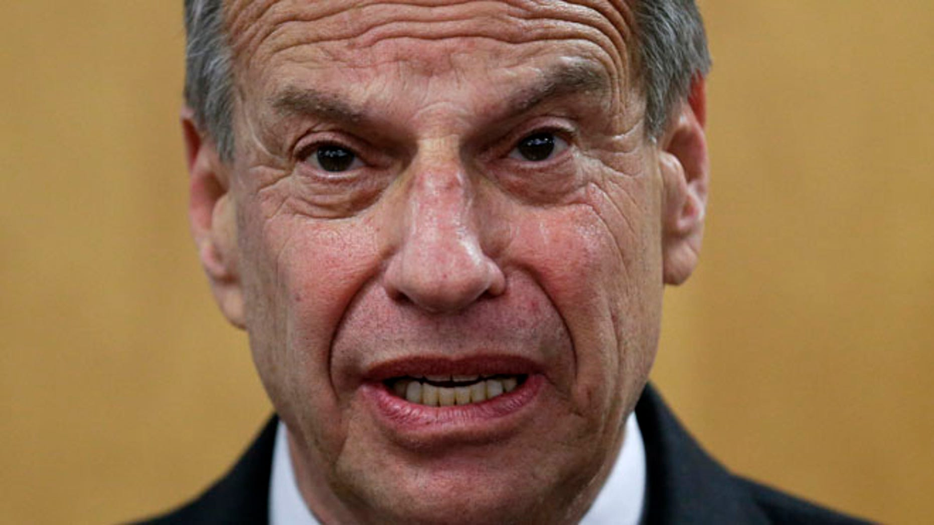 July 26, 2013: San Diego Mayor Bob Filner speaks during a news conference at city hall, in this photo taken in San Diego.