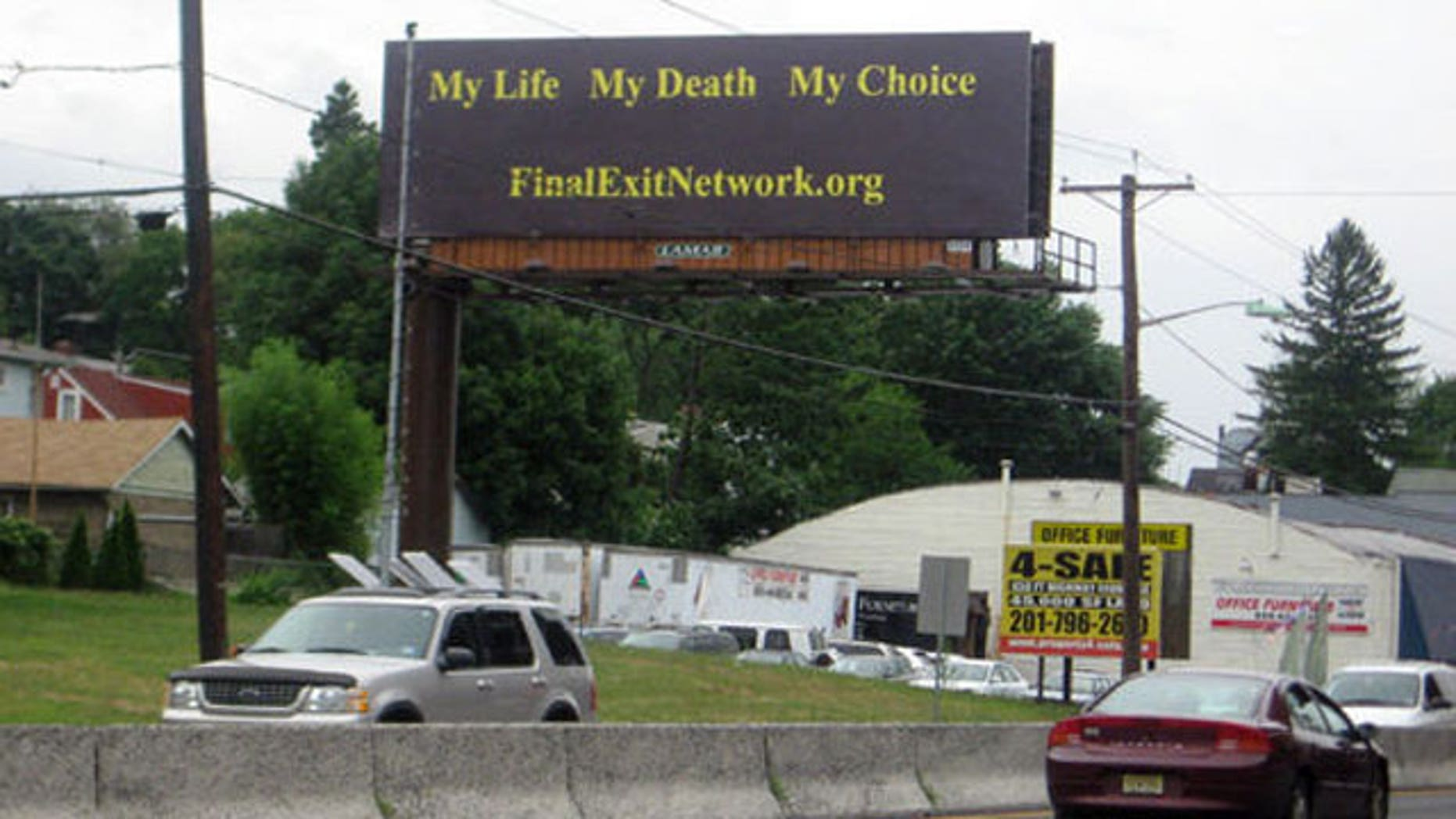 Photo/Al Jones 1010Wins-Billboard located on rt 22 in Hillside, NJ