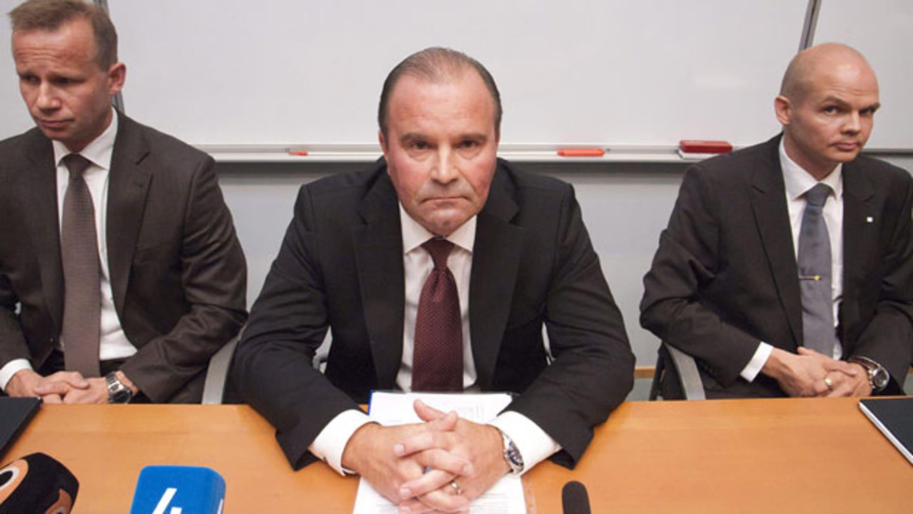 Finland's Detective Inspector Kaj-Erik Bjorkvist from the National Bureau of Investigation.