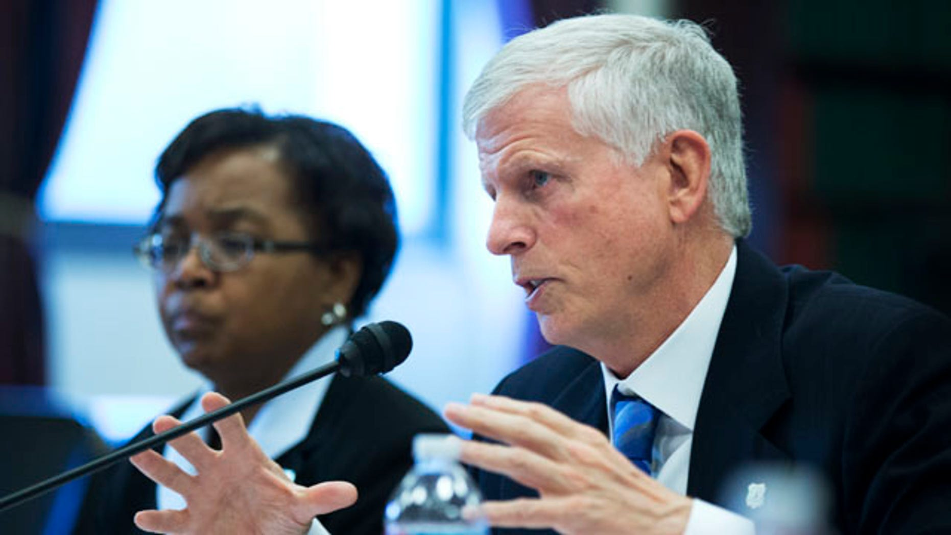 April 26, 2013: Forest Service Chief Tom Tidwell testifies on Capitol Hill in Washington, before the House Appropriations Committee, subcommittee on Interior, Environment, and Related Agencies budget hearing on forest service.