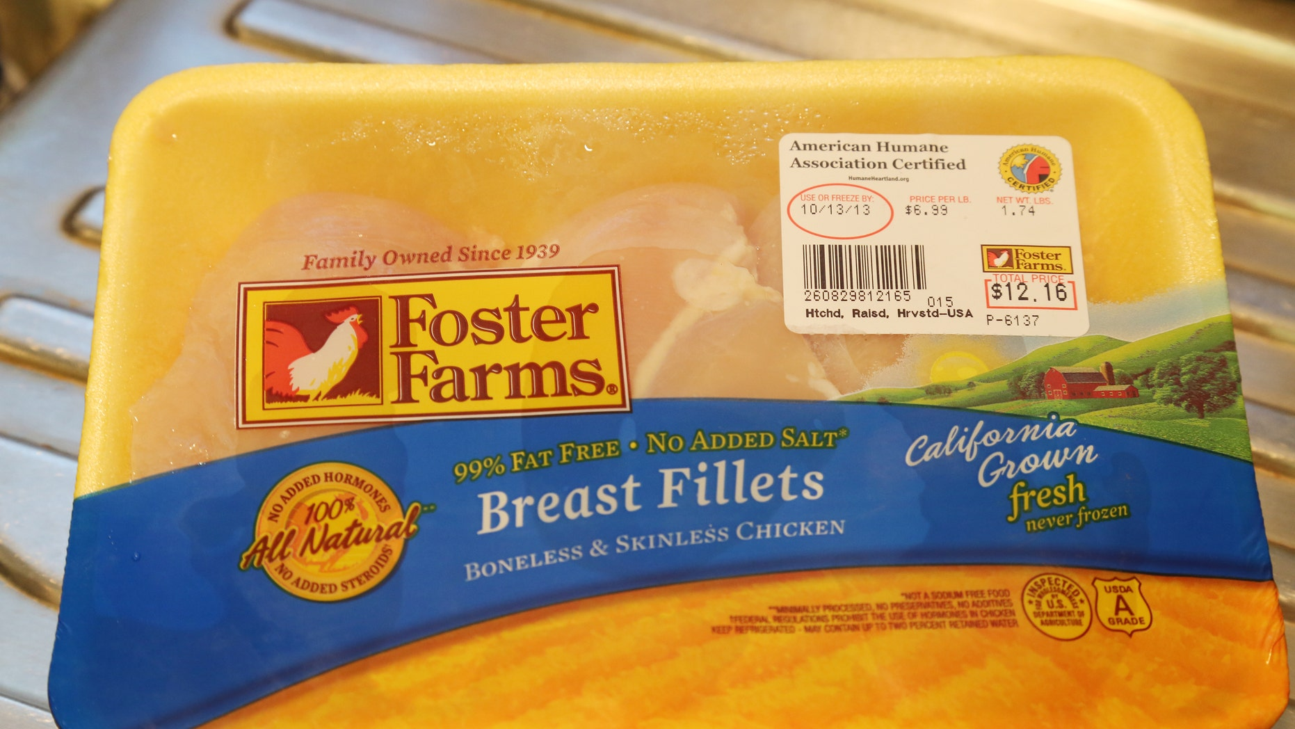 A Foster Farms chicken plant located in California has been shut down by the USDA due to a cockroach infestation . (REUTERS/Fred Prouser)