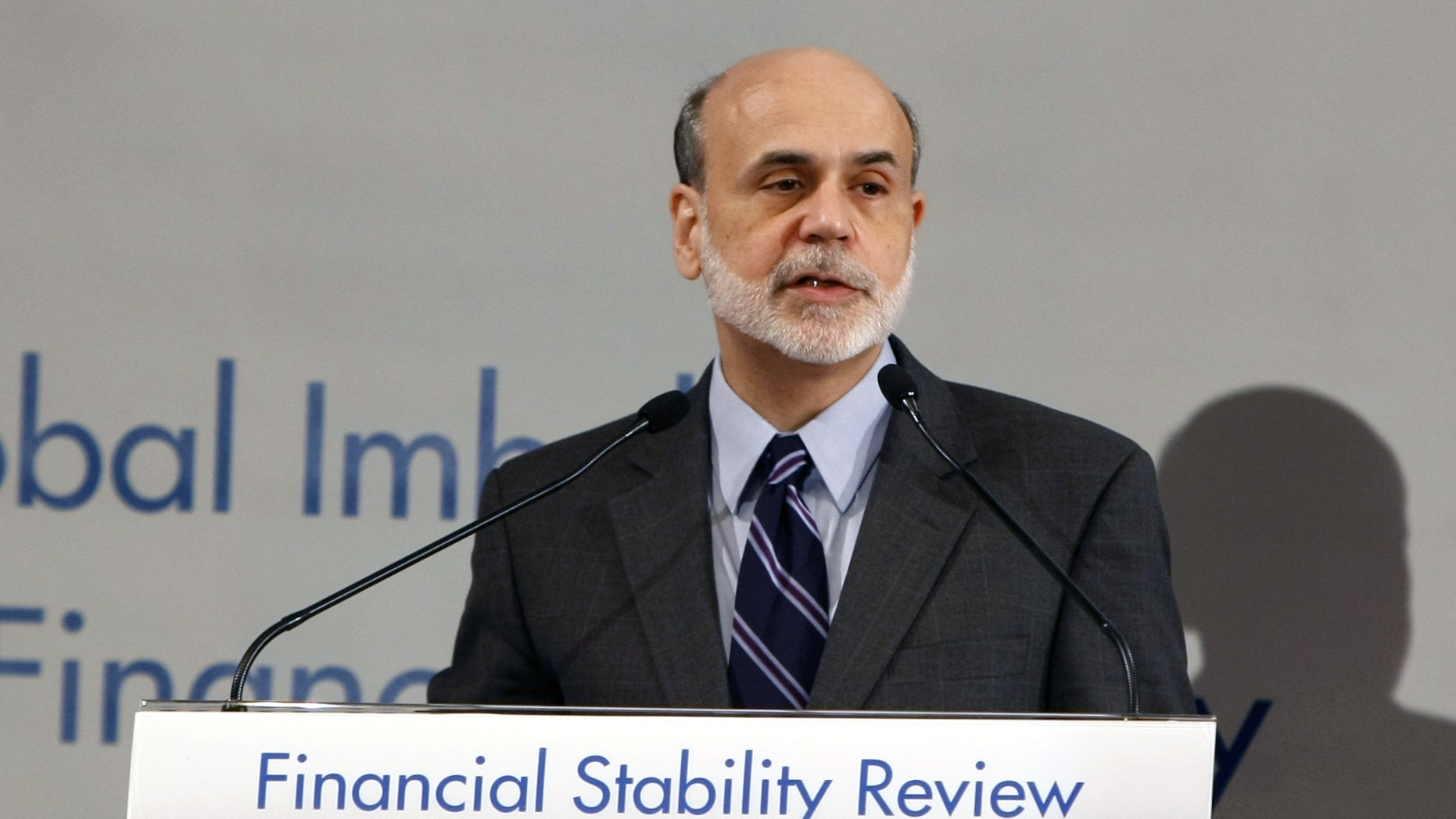 Feb. 18: Federal Reserve Chairman Ben Bernanke delivers a speech during a meeting with G20 central bank governors in Paris ahead of a G20 Finance meeting.