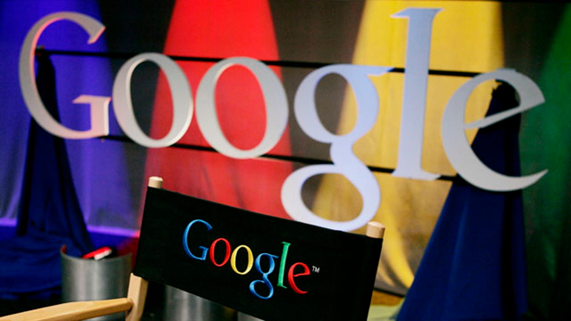 A Google sign inside Google headquarters in Mountain View, Calif. A Paris court has convicted the company in a copyright infringement case over online publication of French books.