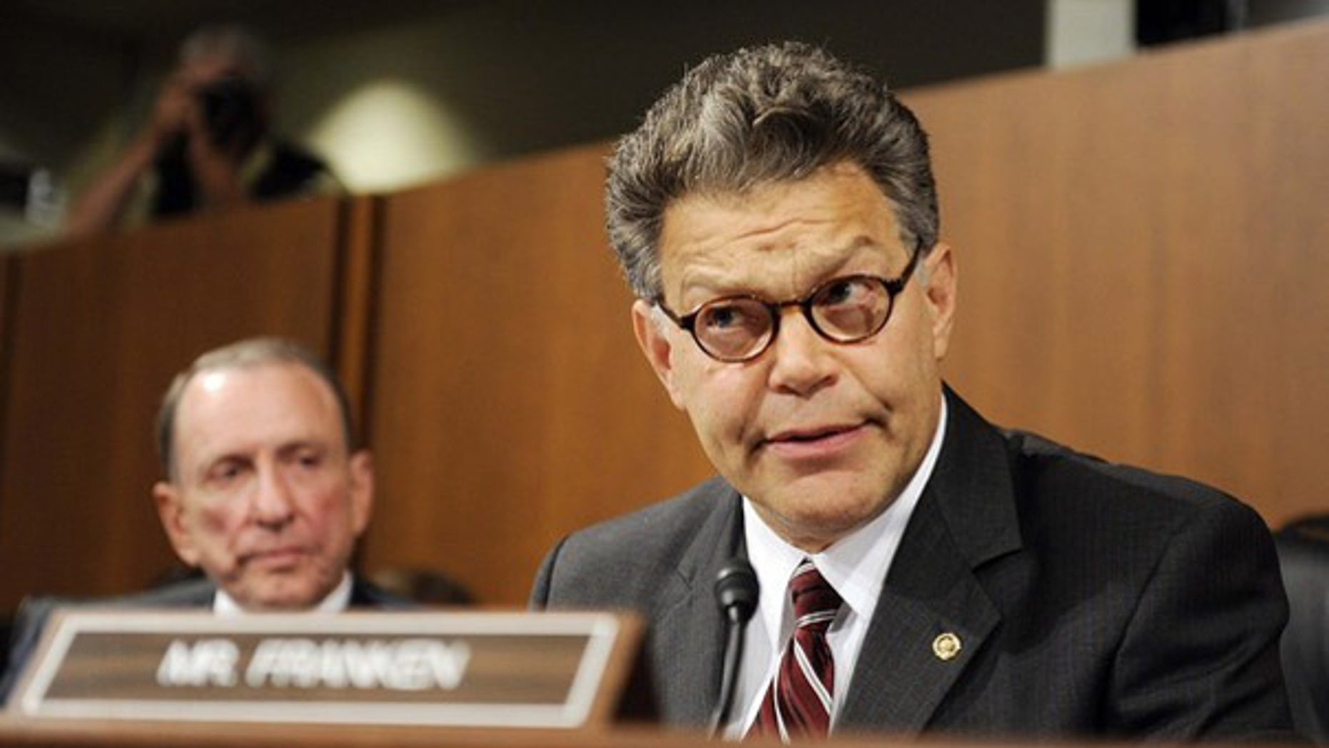 Sen. Al Franken questions Supreme Court nominee Judge Sonia Sotomayor during the third day of her U.S. Senate Judiciary Committee confirmation hearings on Capitol Hill in Washington July 15, 2009.(Reuters)