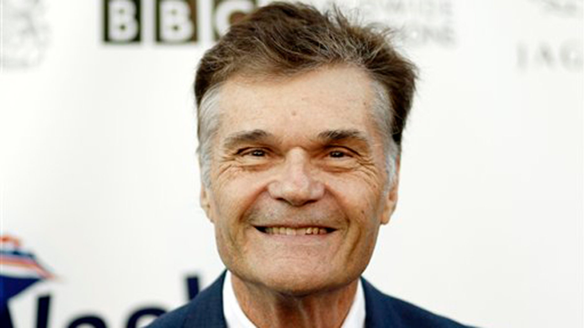 April 26, 2011: This file photo shows actor Fred Willard arriving at the fifth annual BritWeek in Los Angeles.