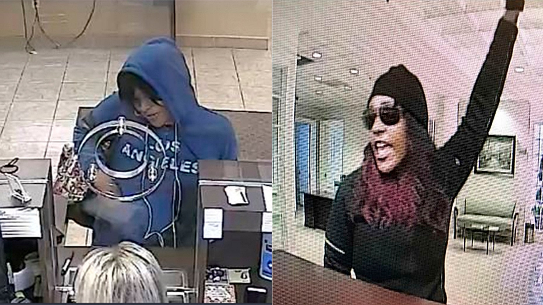 """he FBI says Nilsa Marie Urena, 25, is called the """"Freedom Fighter Bandit"""" because she says she's robbing banks for a cause."""