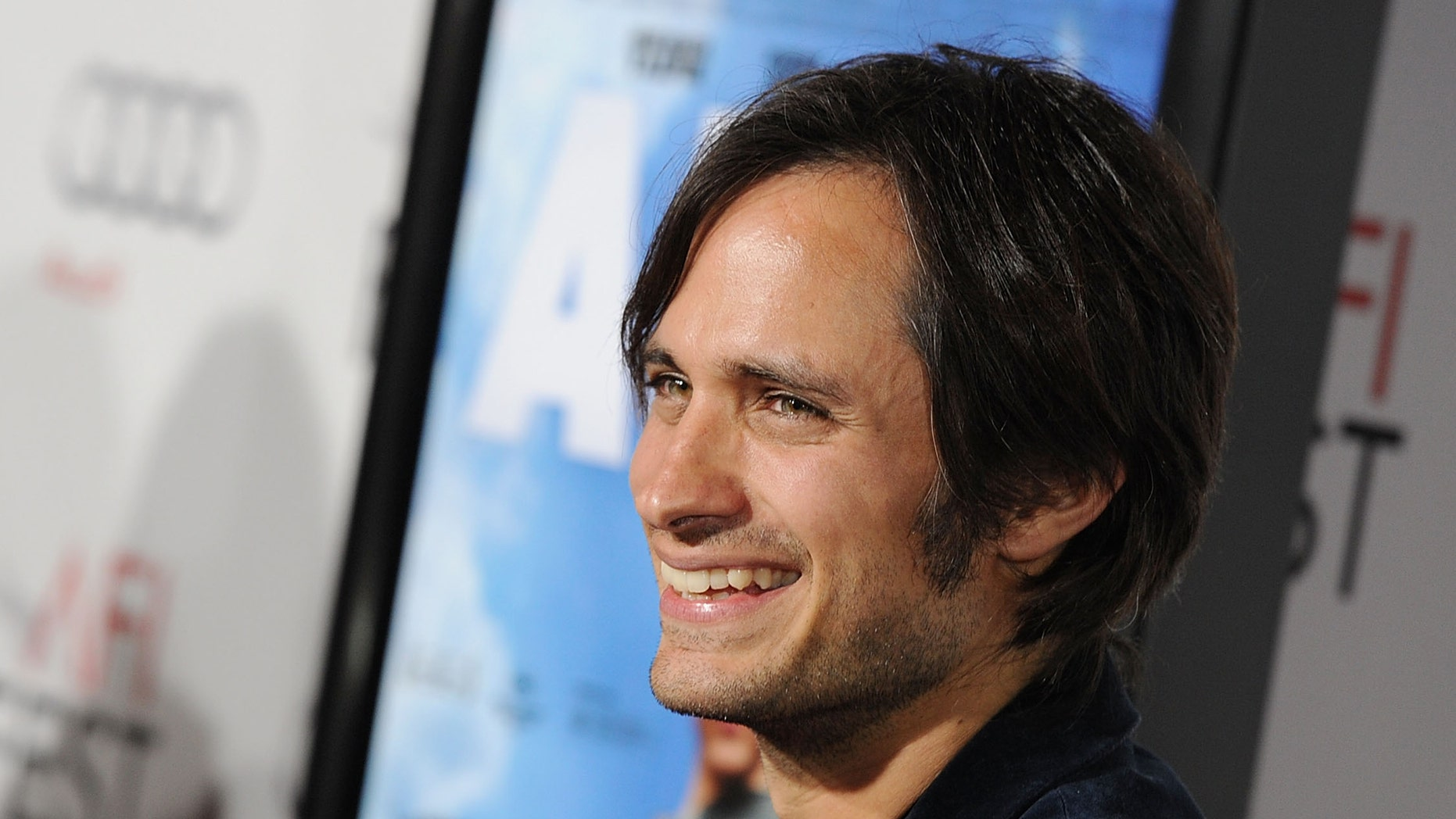 """HOLLYWOOD - NOVEMBER 07:  Executive Producer Gael Garcia Bernal arrives at """"Abel"""" screening during AFI FEST 2010 presented by Audi at Grauman's Chinese Theatre on November 7, 2010 in Hollywood, California.  (Photo by Kevin Winter/Getty Images for AFI)"""