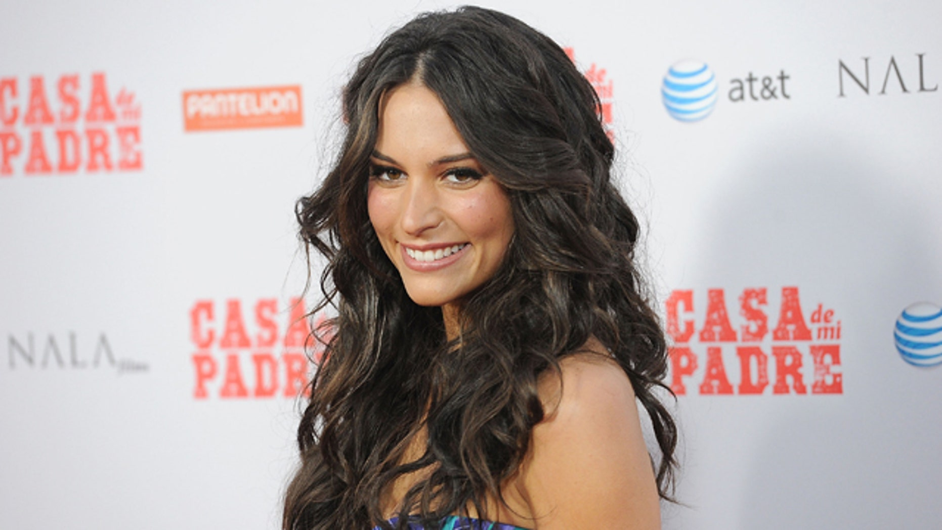 """March 14, 2012: Actress Genesis Rodríguez arrives at the premiere of Pantelion Films """"Casa de mi Padre"""" at the Chinese Theater in Hollywood, Calif."""
