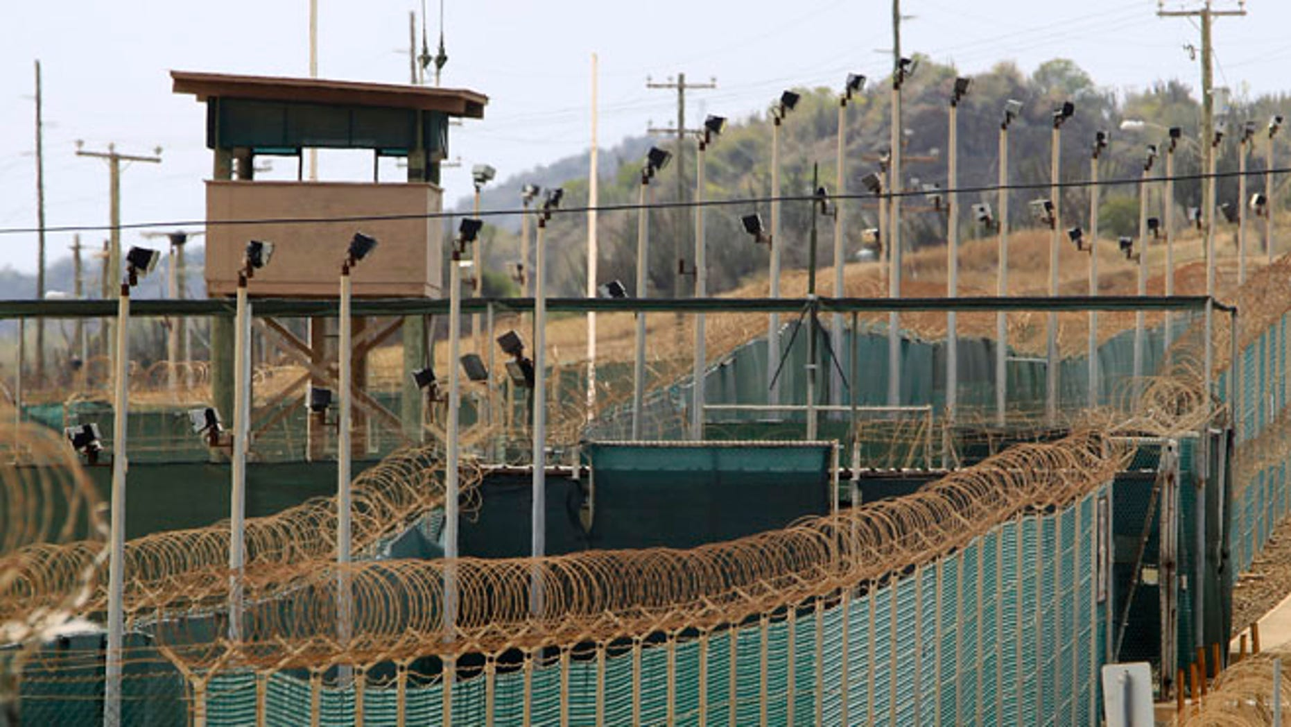 March 6, 2013: The exterior of Camp Delta is seen at the U.S. Naval Base at Guantanamo Bay.