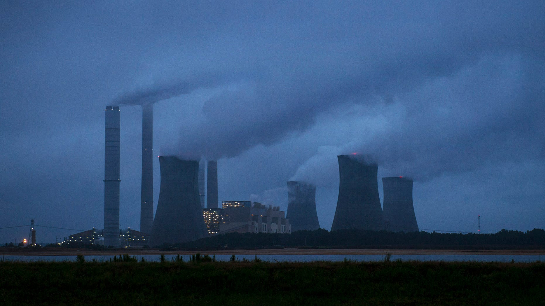 June 1, 2014: The coal-fired Plant Scherer is photographed in Juliette, Ga.