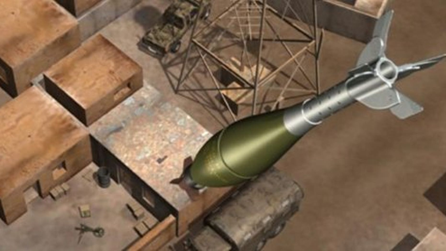 New GPS-guided mortar rounds are seven times more accurate.