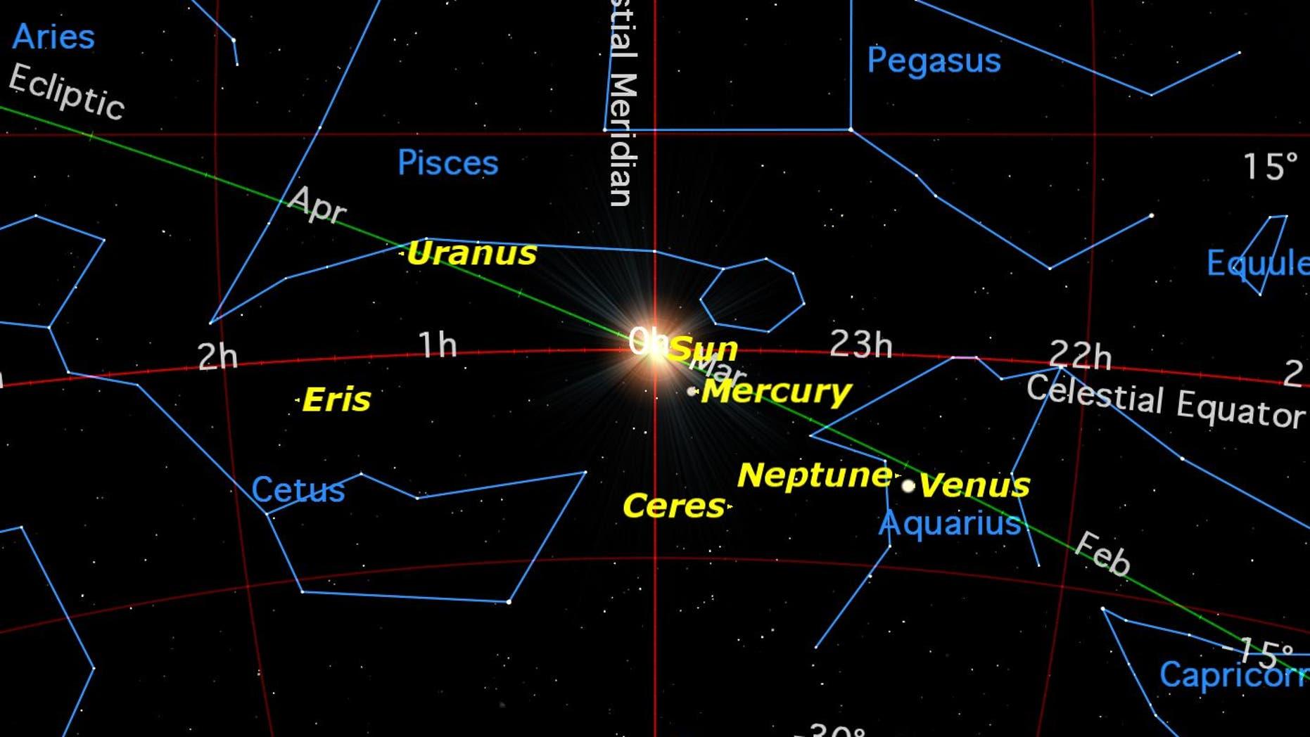 Spring Equinox Map
