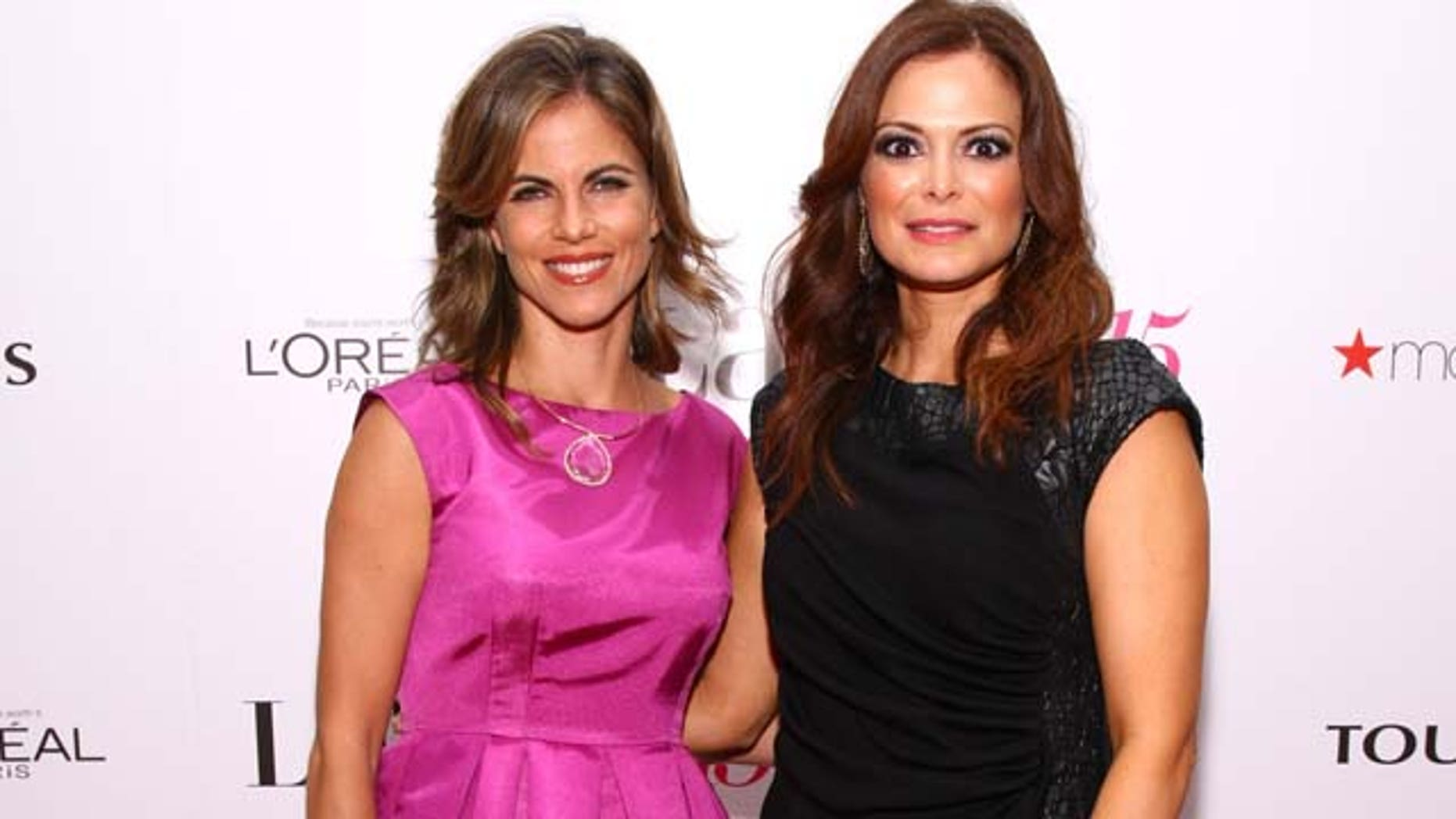 Sept. 26, 2011: TV personality Natalie Morales and Co-President of Latina Magazine Galina Espinoza attend Latina Magazine's 15th anniversary celebration at Espace in New York City.