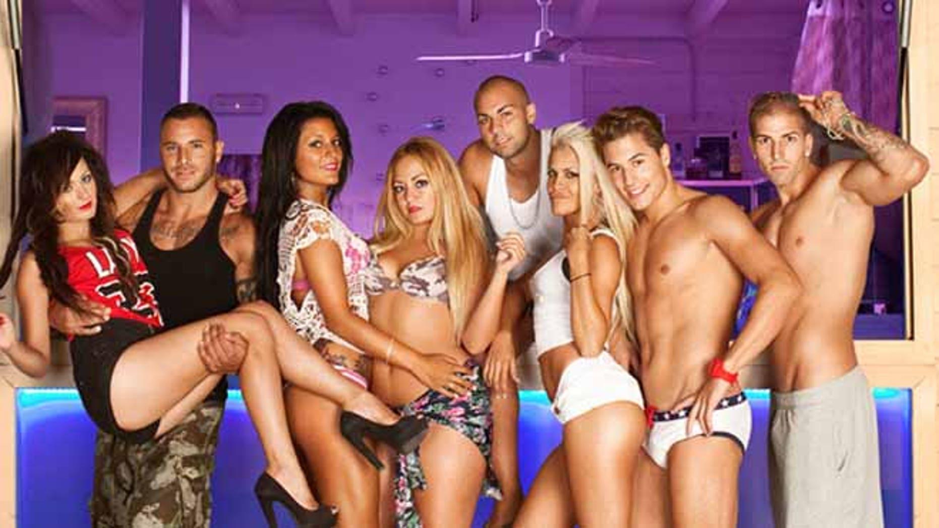 The cast of 'Gandia Shore' in Spain.