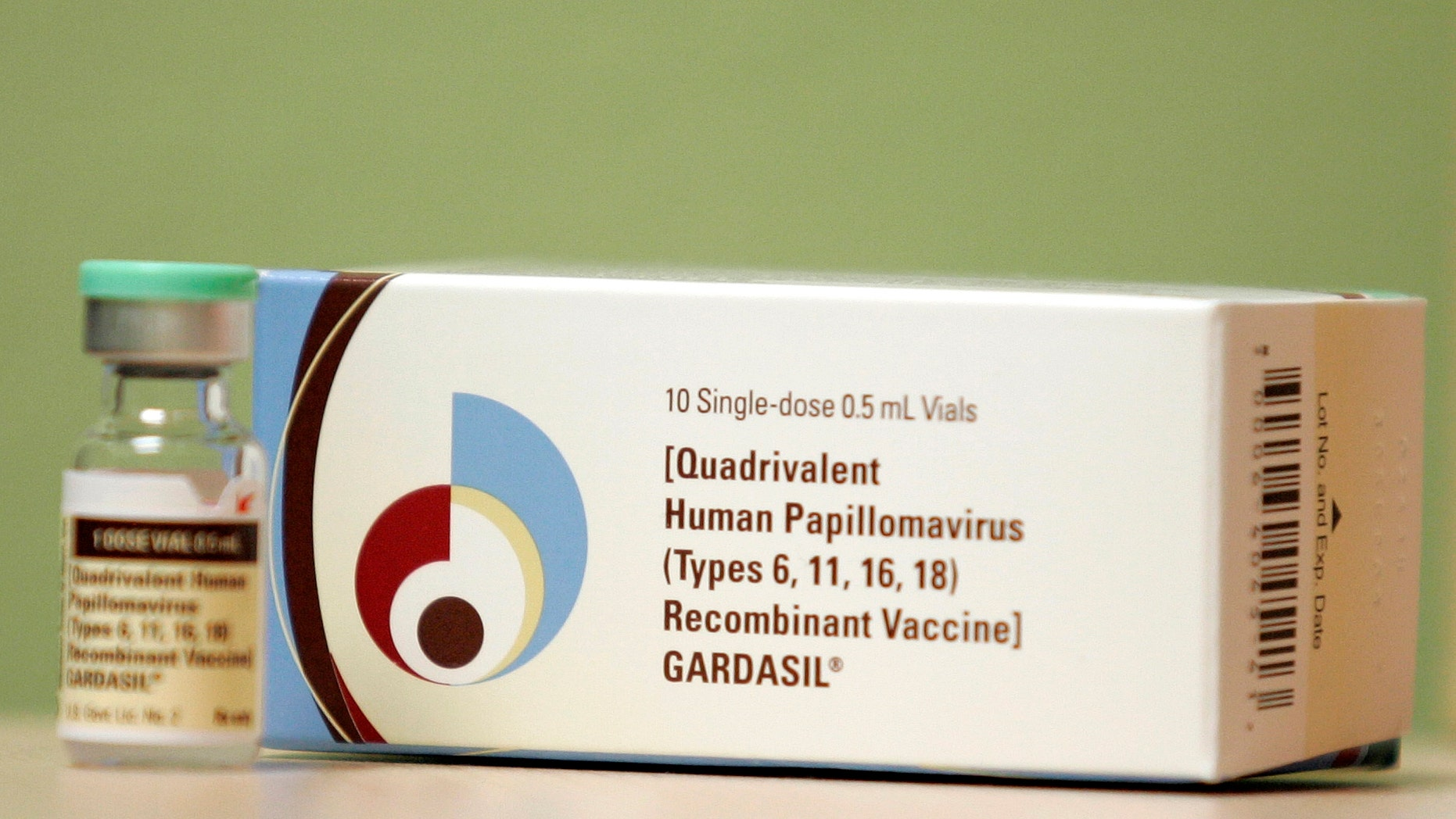 Gardasil, a Human Papillomavirus vaccine, is displayed in Dallas, Texas March 6, 2007. (REUTERS/Jessica Rinaldi)