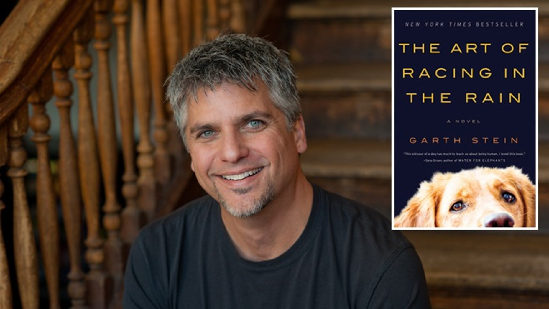 """New York Times bestseller """"The Art of Racing in the Rain"""" (inset) by Garth Stein was removed from the English curriculum of the Highland Park School District in Dallas after parents logged complaints about the material."""