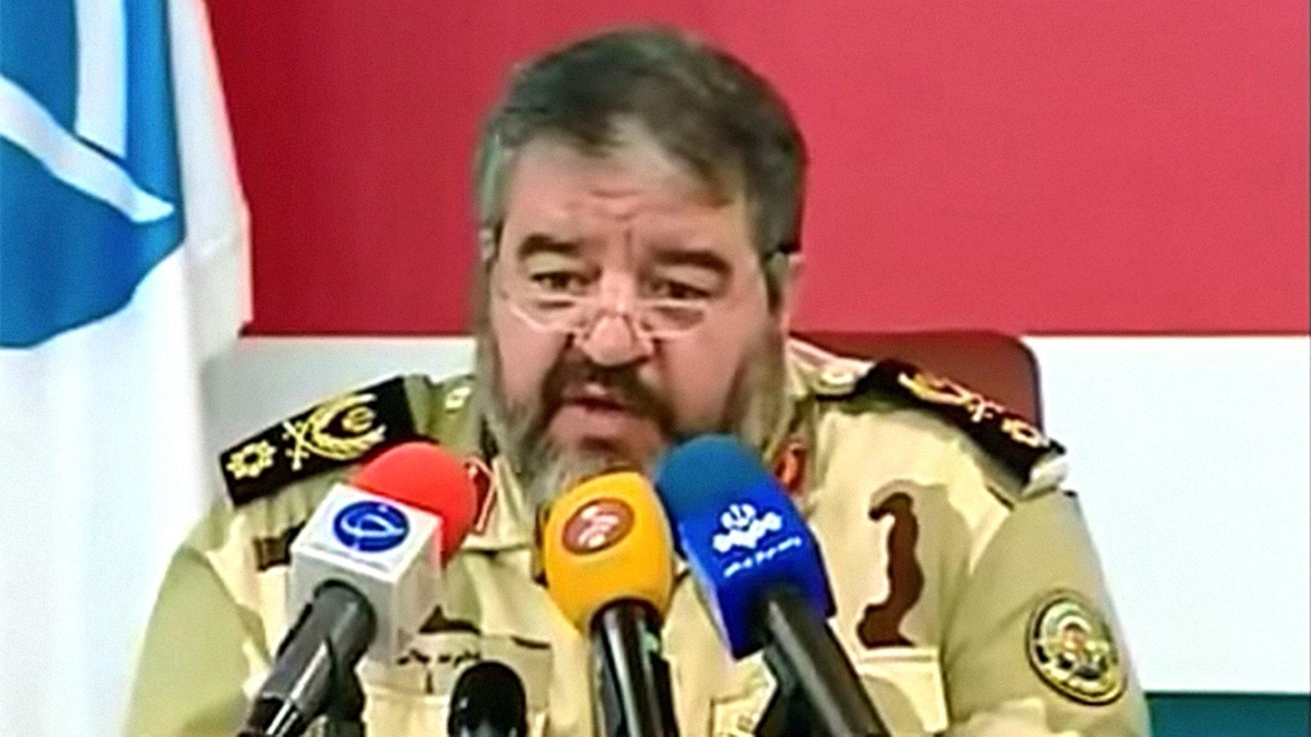 Brigadier General Gholam Reza Jalali accused Israel of manipulating weather over Iran.