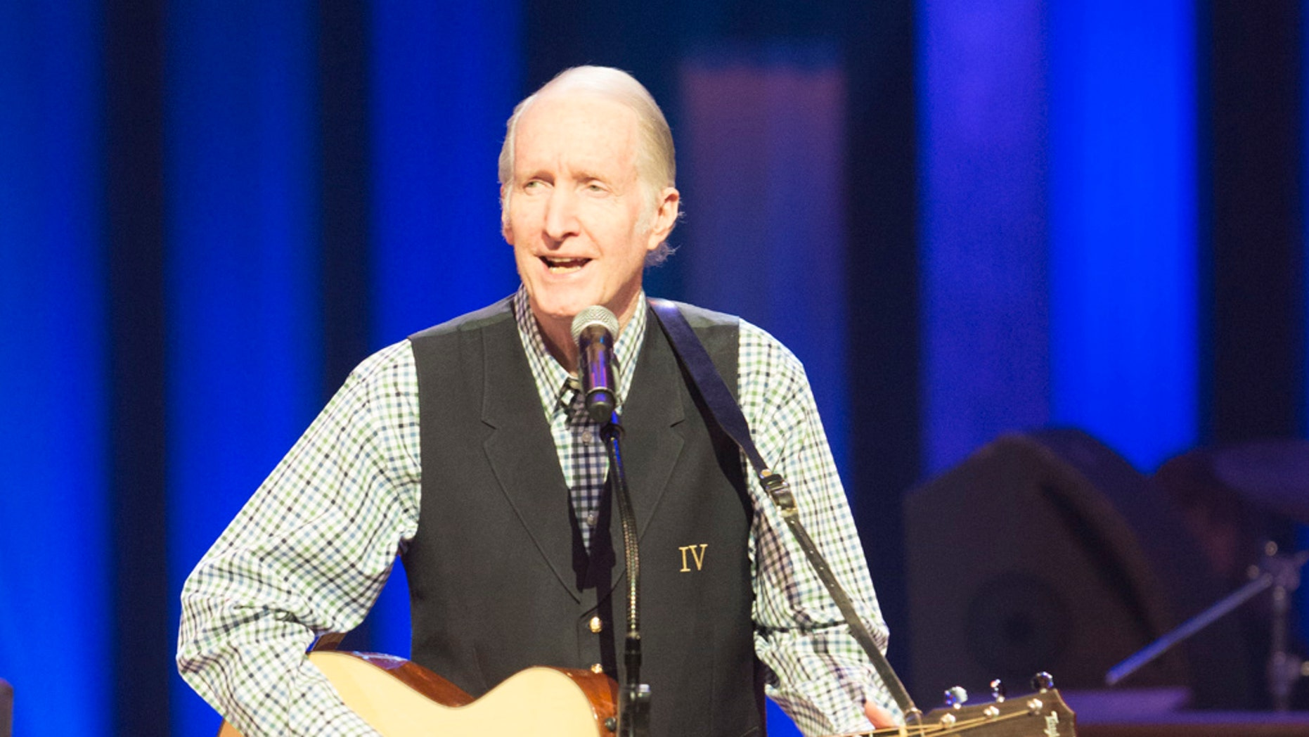 George Hamilton IV performing at the Grand Ole Opry.