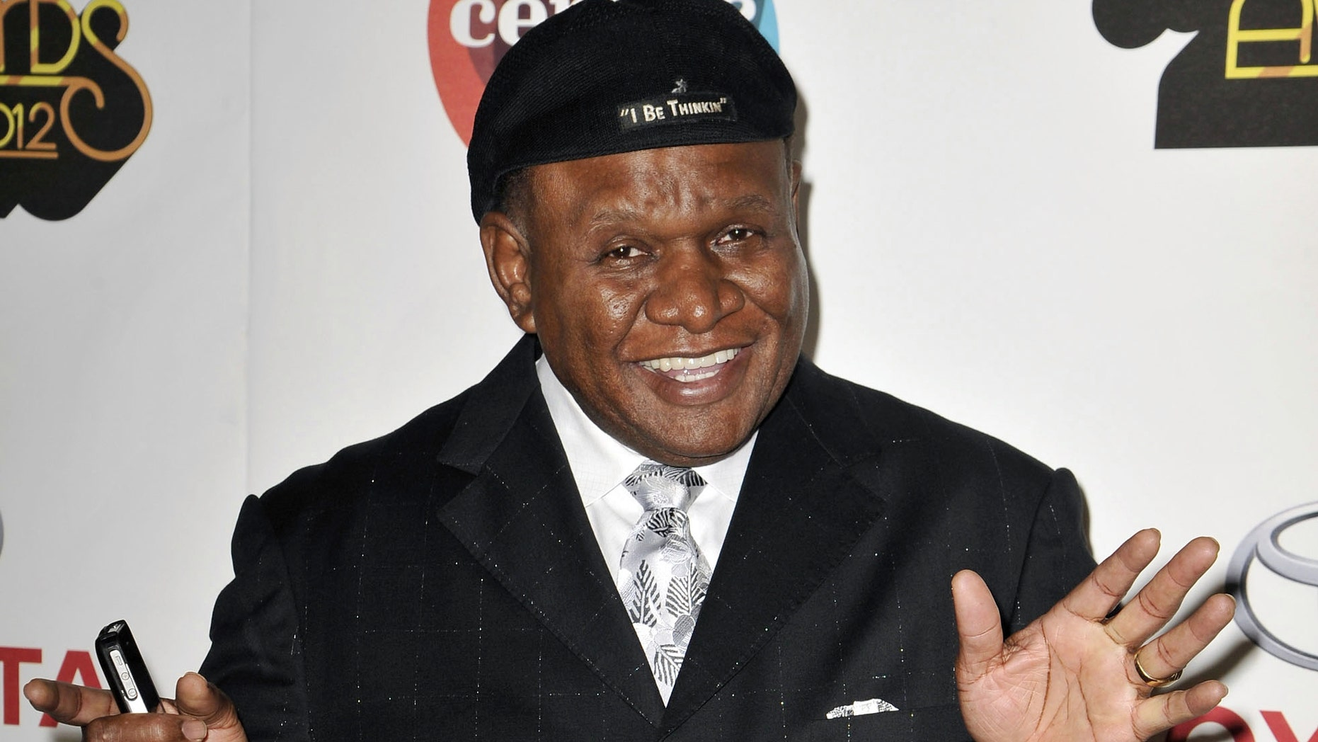 Nov. 8, 2012. Actor and comedian George Wallace arrives at the Soul Train Awards in Las Vegas.