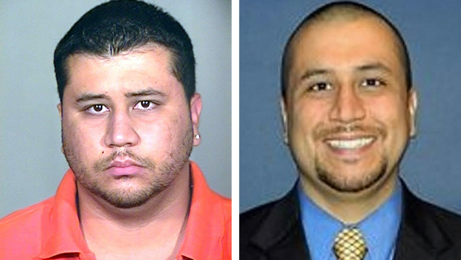 This photo combo shows George Zimmerman. At left is a 2005 booking photo provided by the Orange County Jail via The Miami Herald, and at right is an undated but recent photo of Zimmerman taken from the Orlando Sentinel's website showing Zimmerman, according to the paper. Zimmerman, a neighborhood watch volunteer in the town of Sanford, Fla., told police he shot unarmed 17-year-old Trayvon Martin on Feb. 26. (AP Photo)