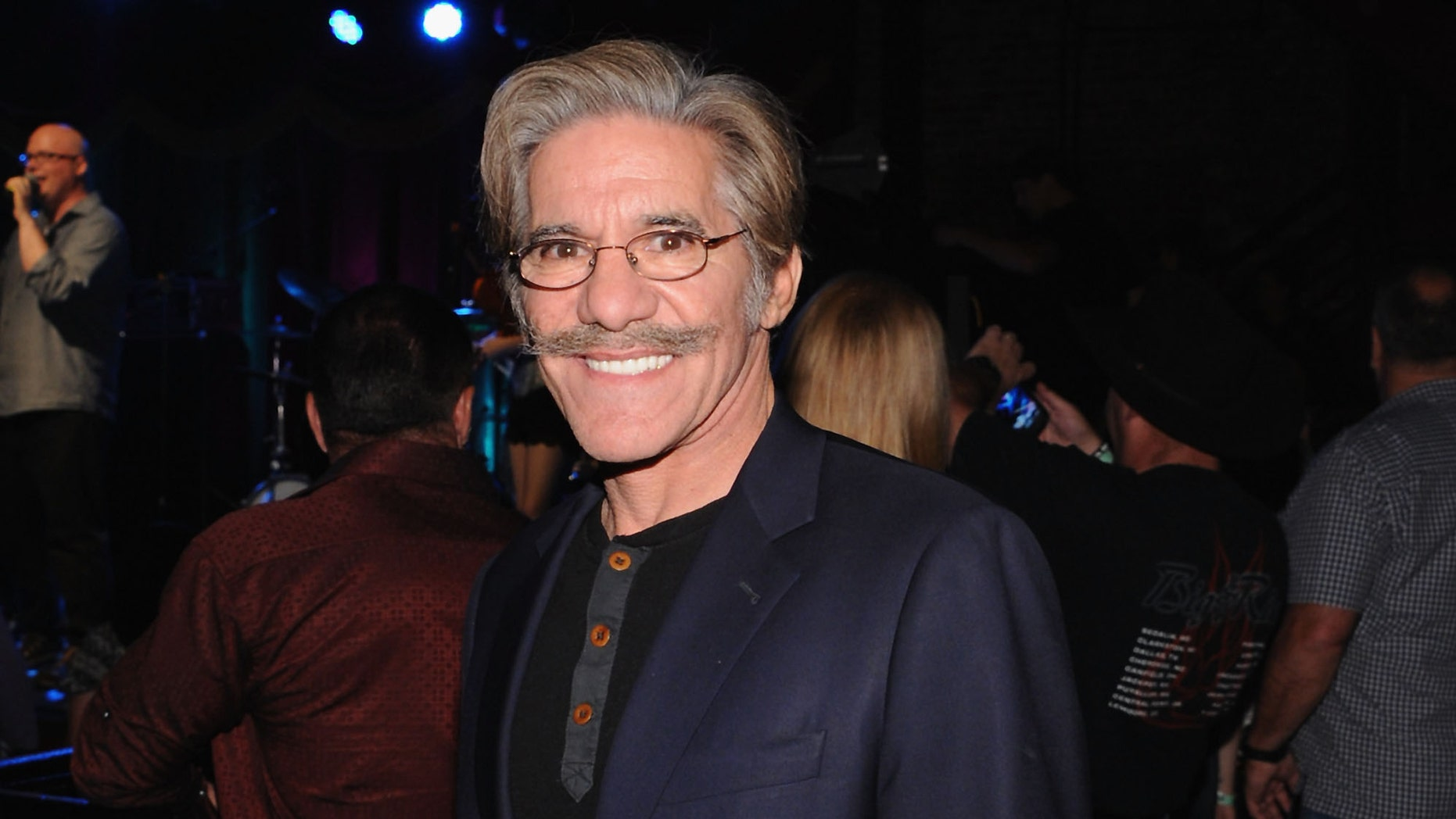 """NEW YORK, NY - SEPTEMBER 23:  News anchor Geraldo Rivera attends the Big & Rich """"Gravity"""" album launch party at Brooklyn Bowl on September 23, 2014 in New York City.  (Photo by Andrew Toth/Getty Images)"""