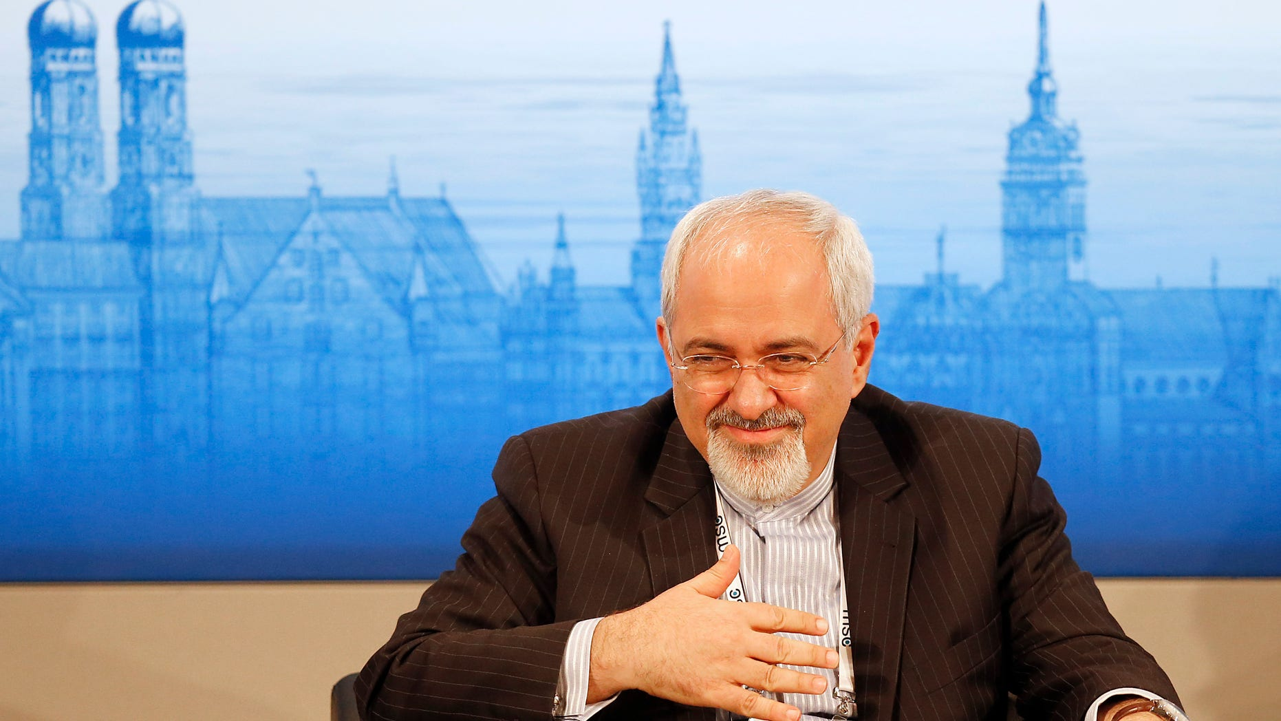 Feb. 2, 2014 - Iran's Foreign Minister Mohammad Javad Zarif listens during  a panel discussion at  the 50th Security Conference on security policy in Munich, Germany.