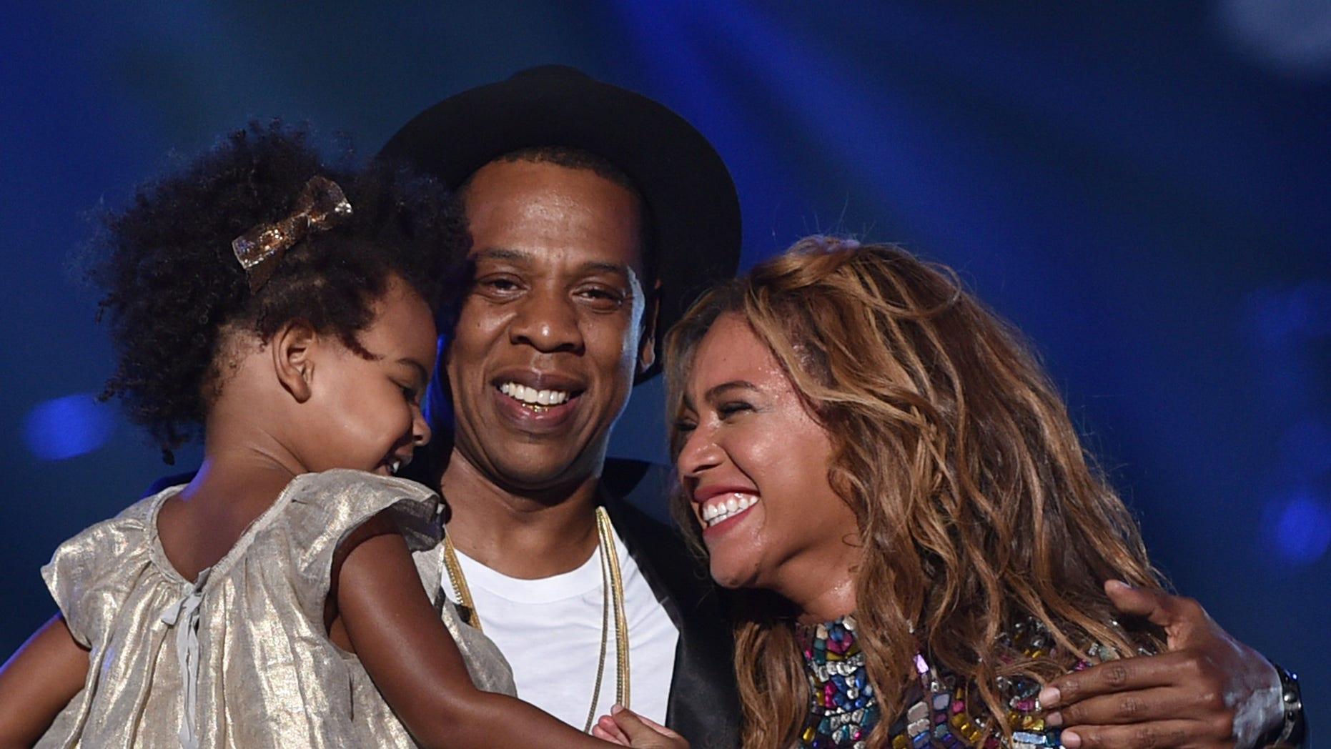 Jay Z, Beyonc and their daughter Blue Ivy
