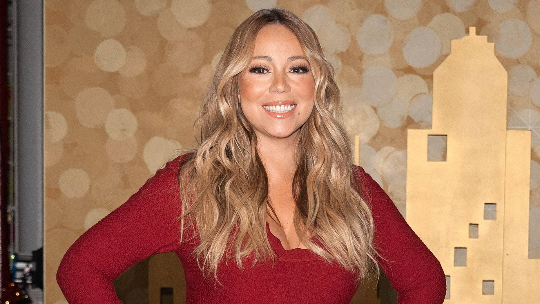 Mariah Carey attends the Pier 1 Imports Pop-up Store launch event on December 1, 2015 in New York City.