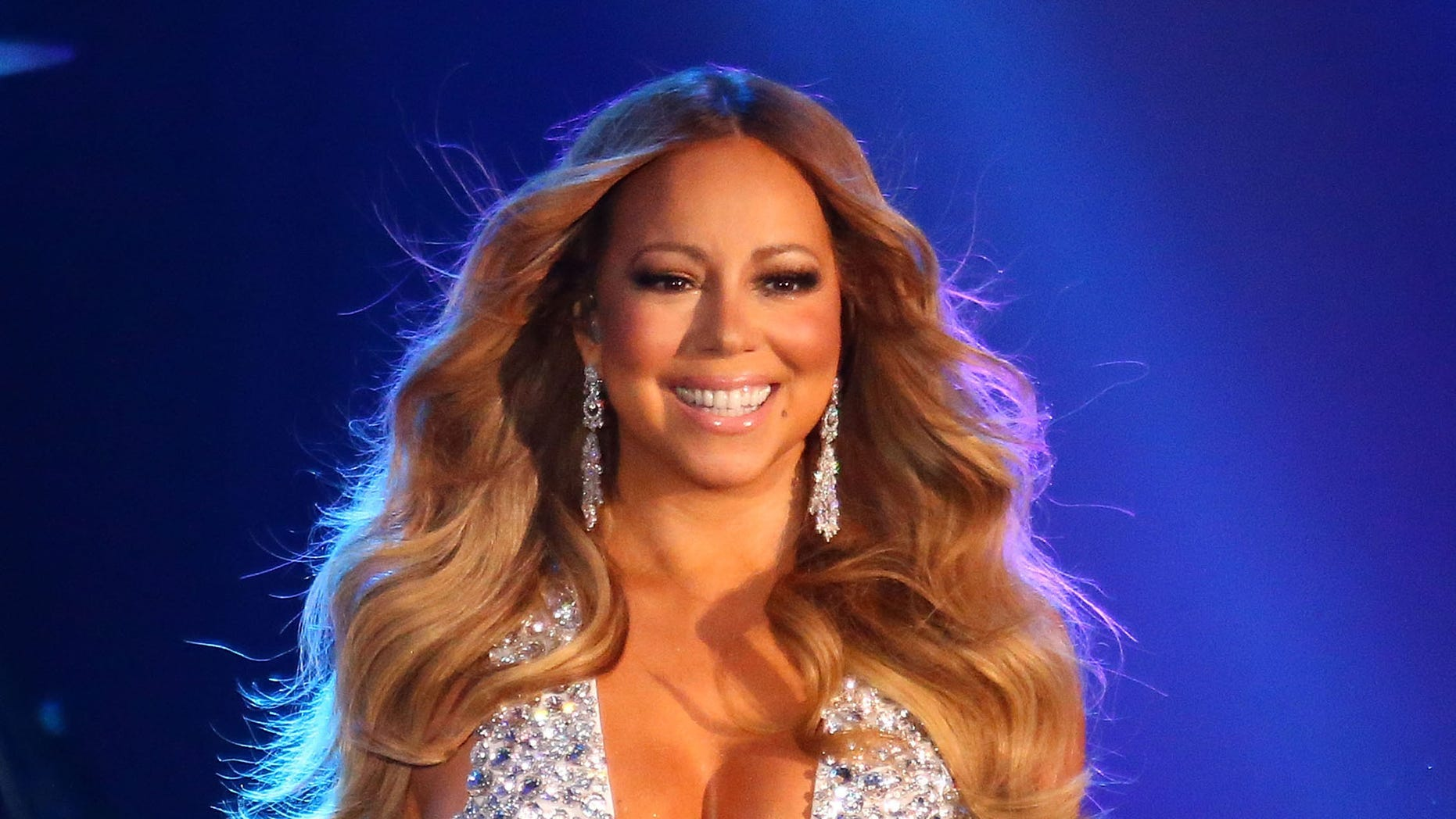 Mariah Carey on December 31, 2015 in Melbourne, Australia.