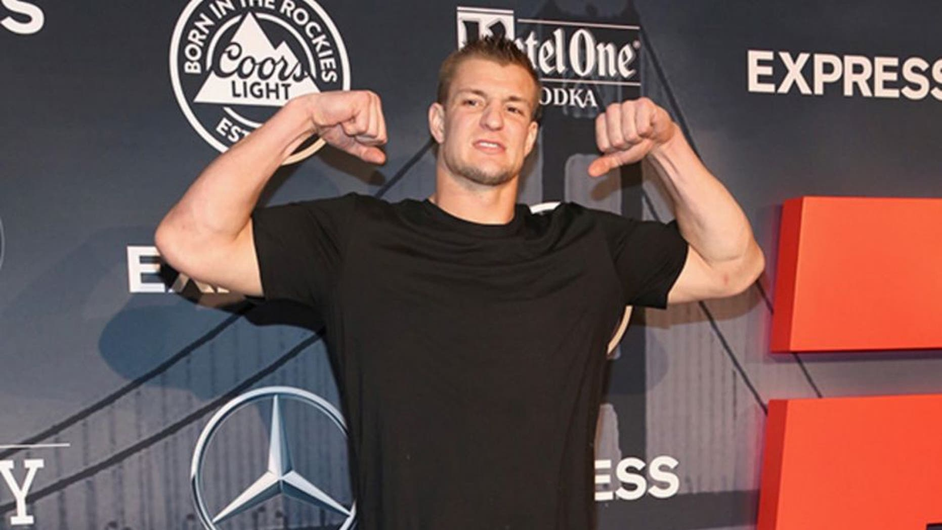 Rob Gronkowski is the life of the party on his cruise to the