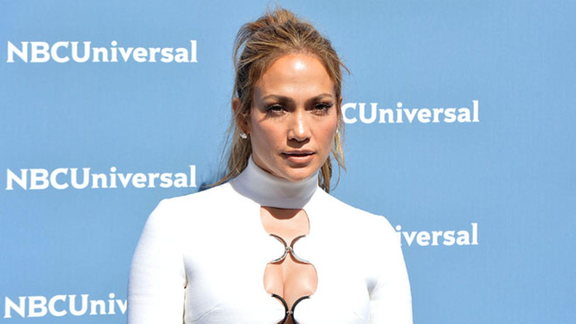 Jennifer Lopez on May 16, 2016 in New York.