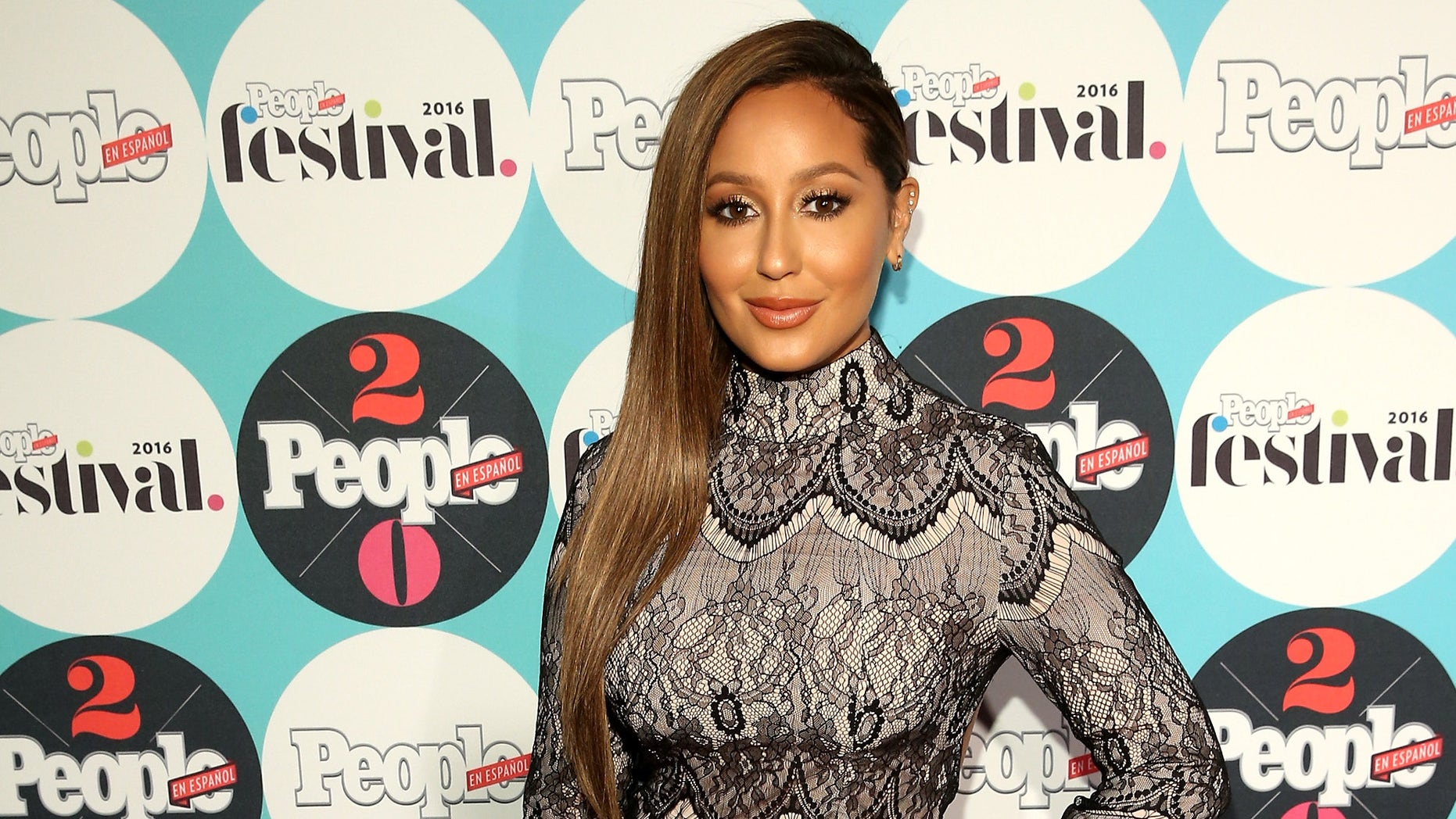 NEW YORK, NY - OCTOBER 16:  Adrienne Bailon attends the 5th Annual Festival PEOPLE En Espanol, Day 2 at the Jacob Javitz Center on October 16, 2016 in New York City.  (Photo by Rob Kim/Getty Images for PEOPLE En Espanol )