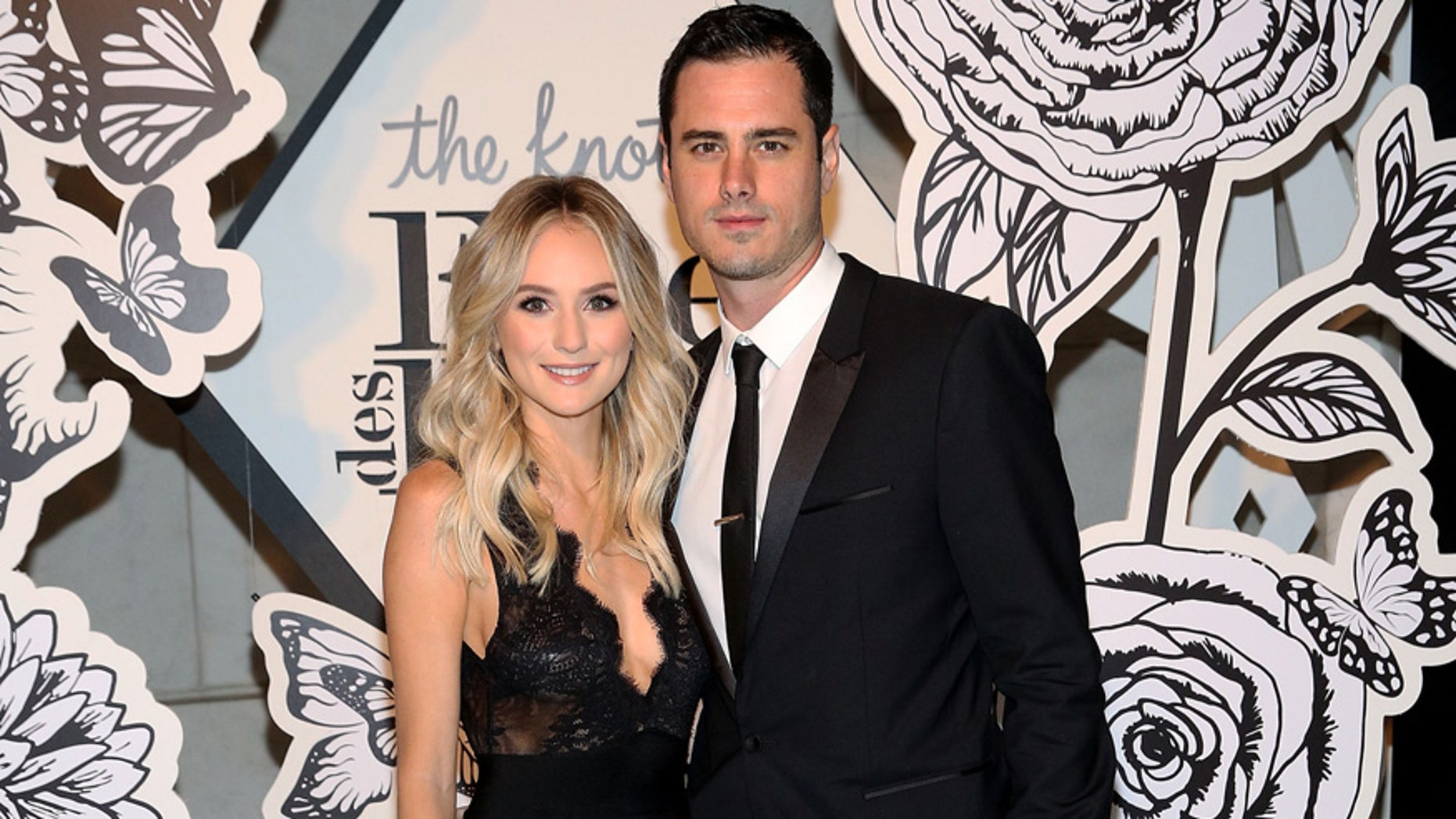 Lauren Bushnell and Ben Higgins attend The Knot Gala 2016 at New York Public Library on October 10, 2016 in New York City.