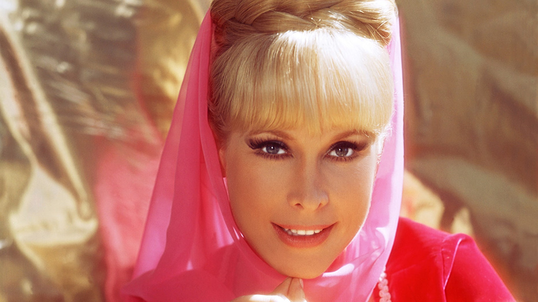 "Barbara Eden as Jeannie from ""I Dream of Jeannie"" circa 1967."