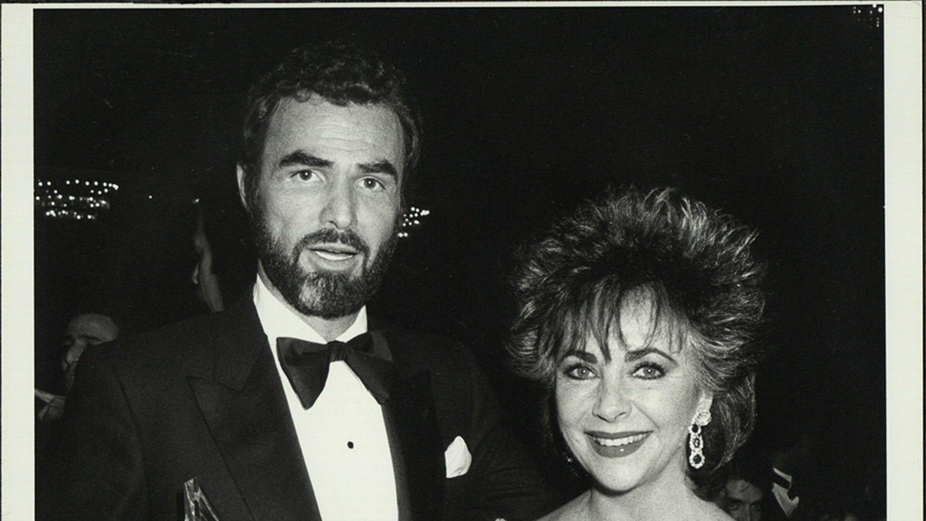 Burt Reynolds and Elizabeth Taylor.