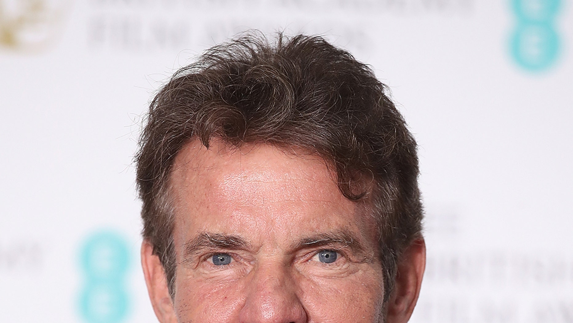 Actor Dennis Quaid is keeping busy taking on a role playing President Ronald Reagan, as well as starring in a new Esurance commercial.
