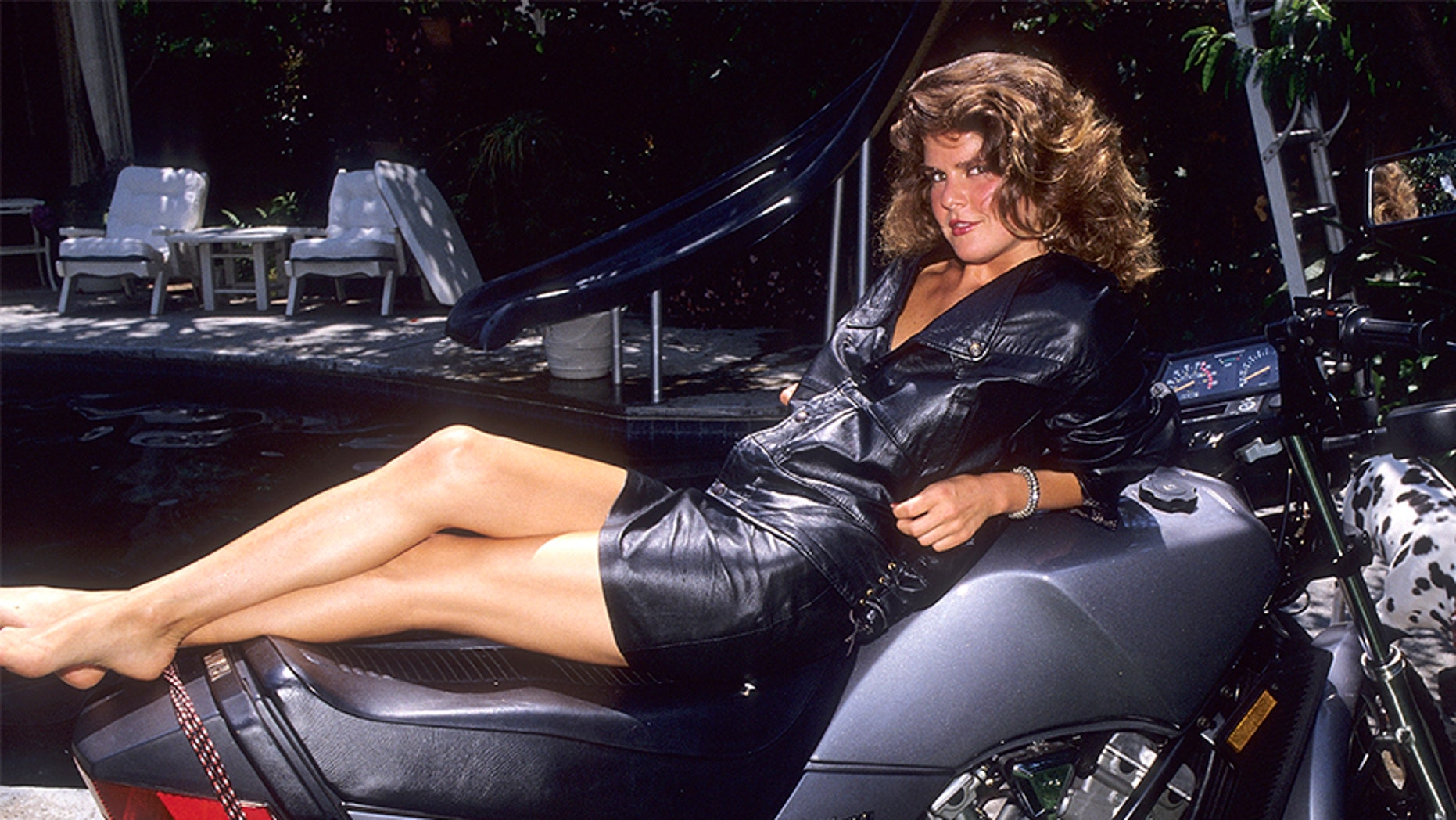 Actress Elizabeth Gorcey gives an exclusive photo session on July 19, 1984 at her home in Beverly Hills, California.