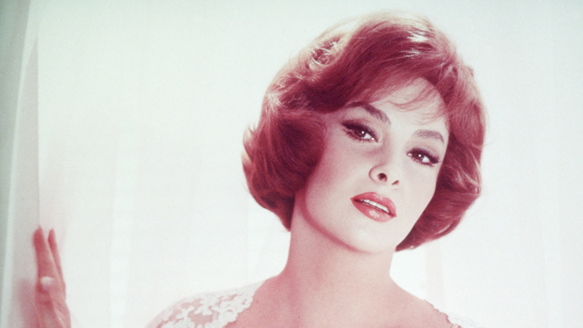 Italian actress Gina Lollobrigida.